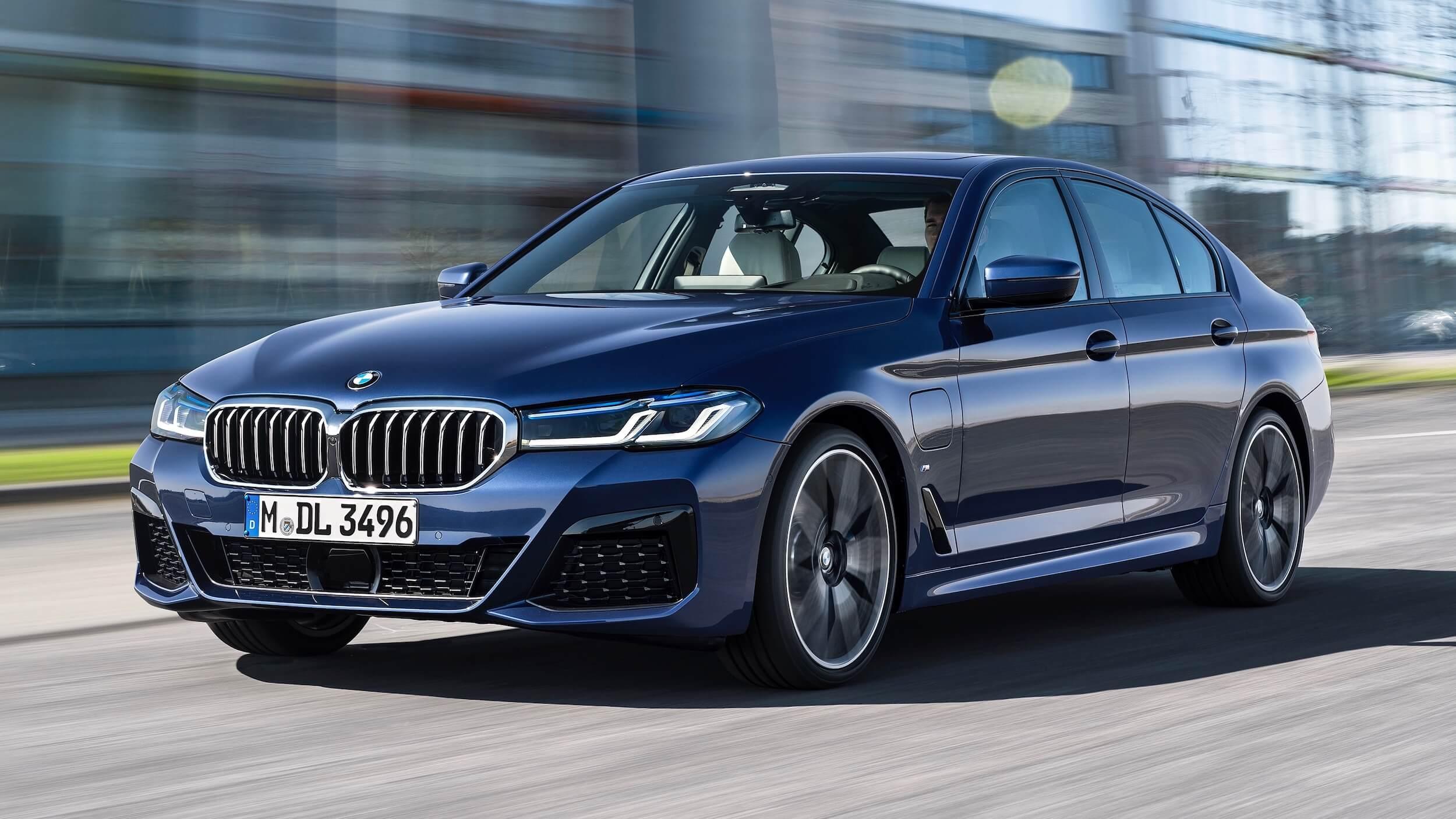 BMW 530e G30 facelift