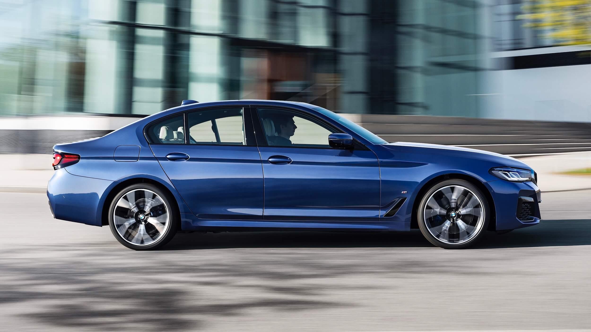 BMW 530e facelift