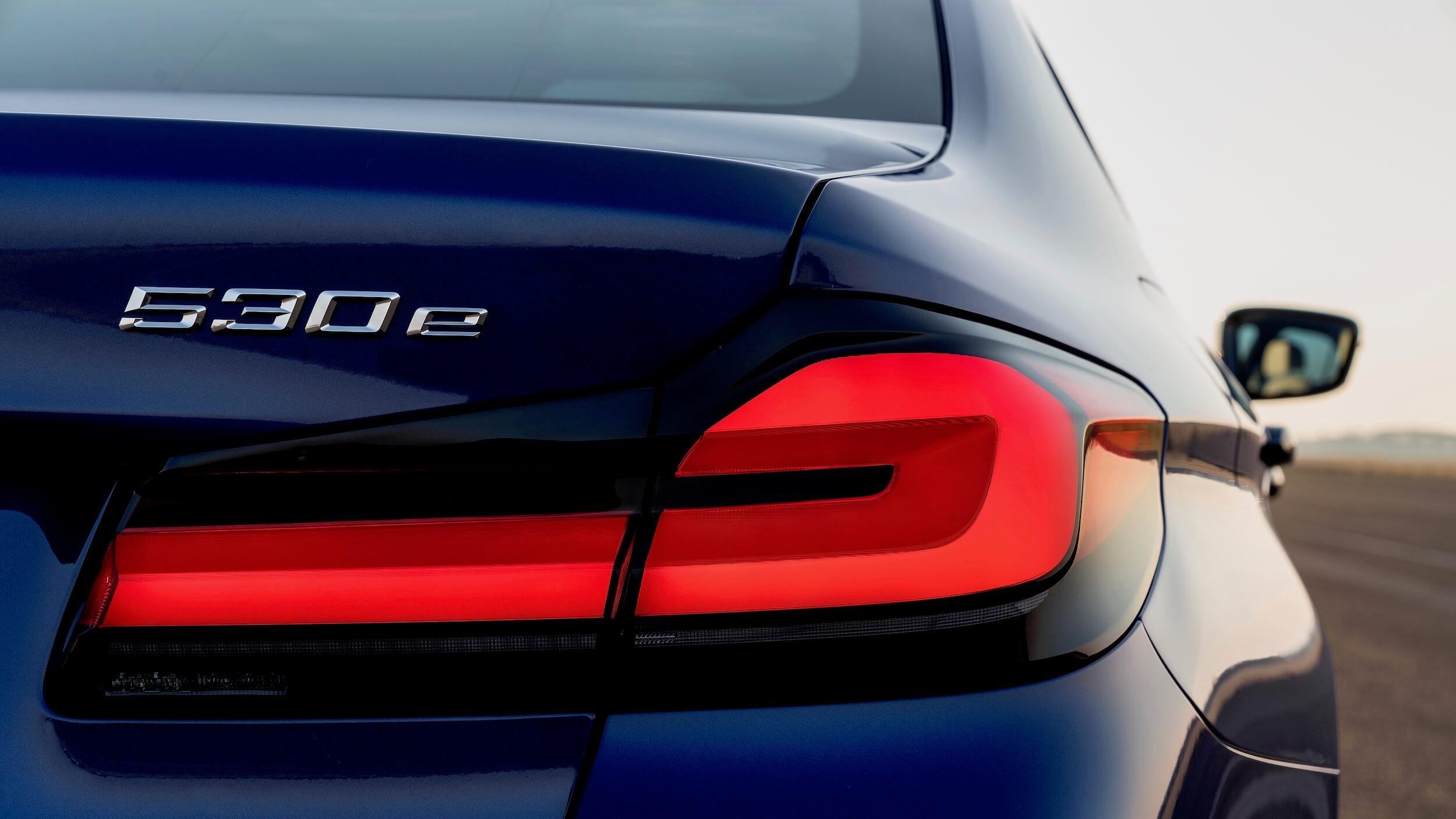 BMW 530e logotipo