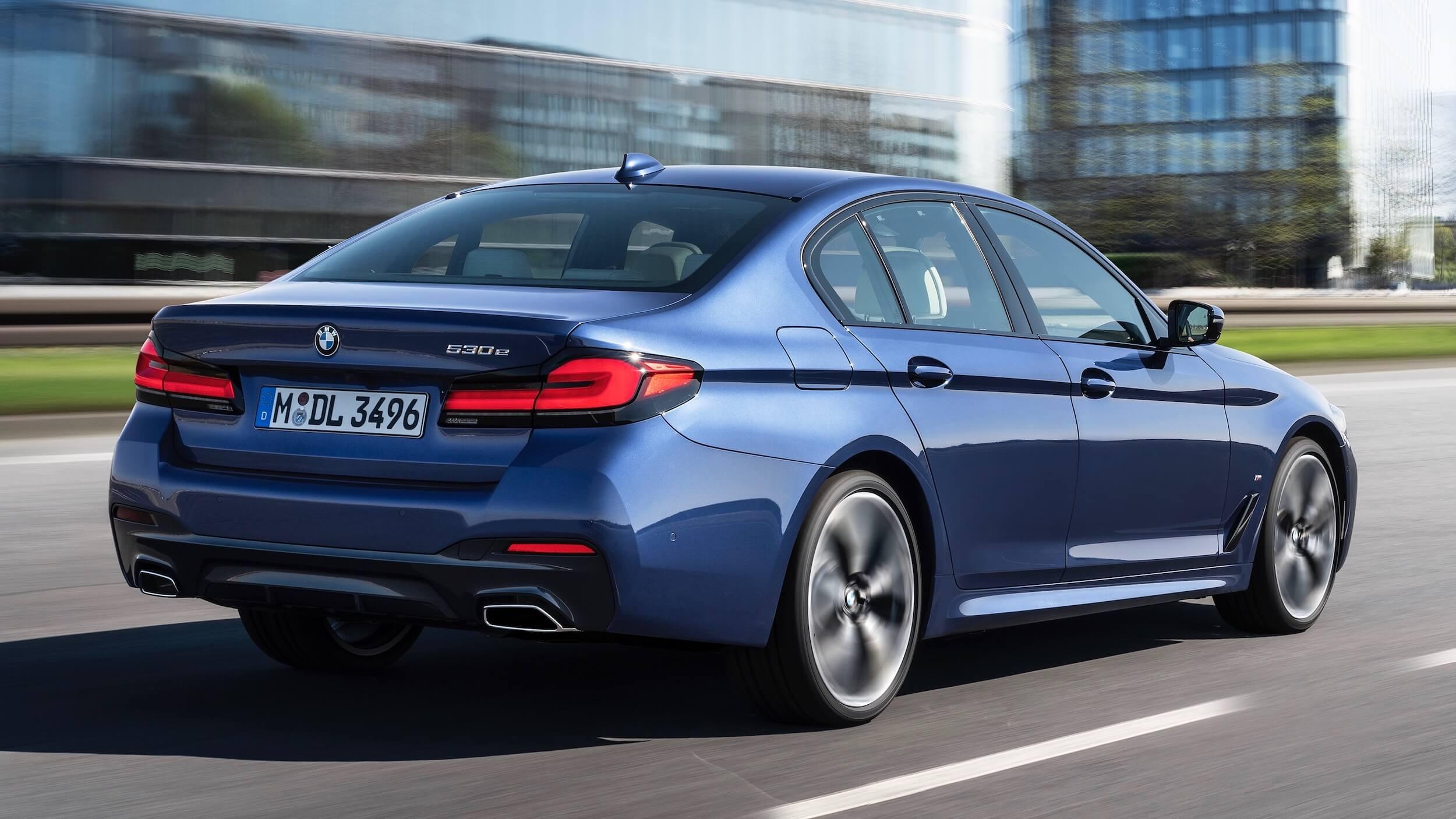 BMW 530e novo