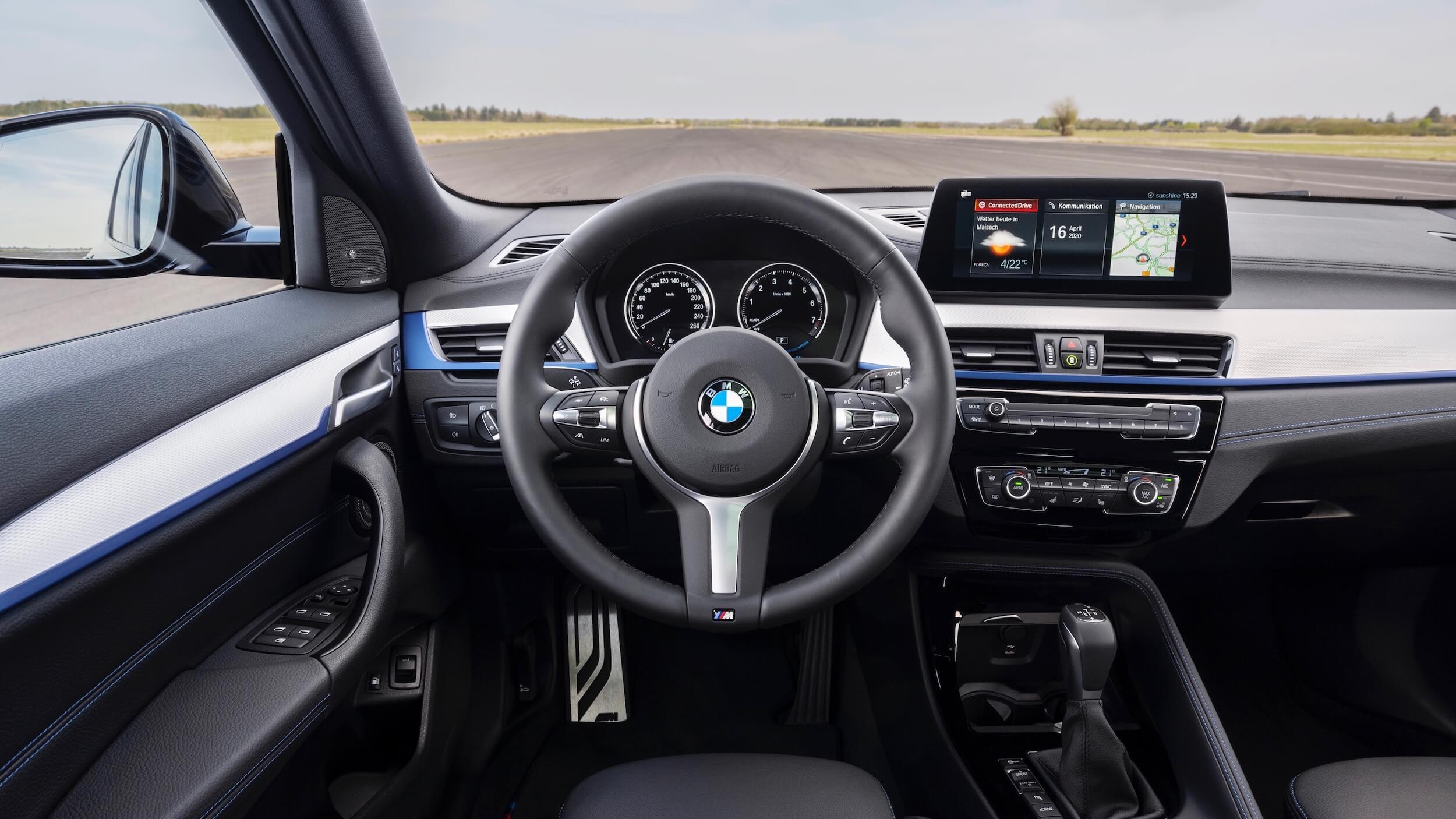 BMW X2 volante