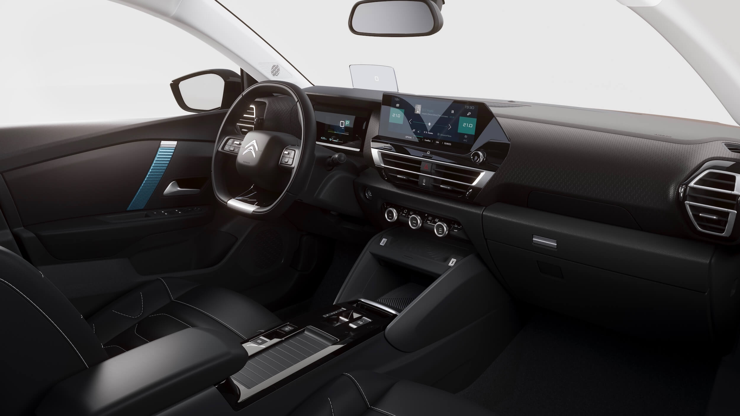 Citroën e C4 interior