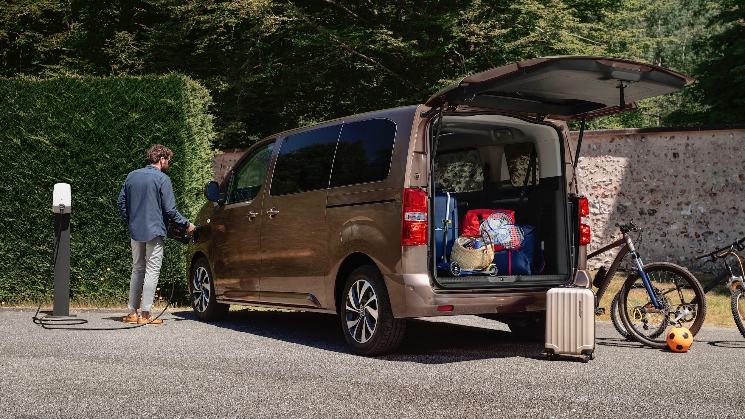 Citroën e SpaceTourer bagageira