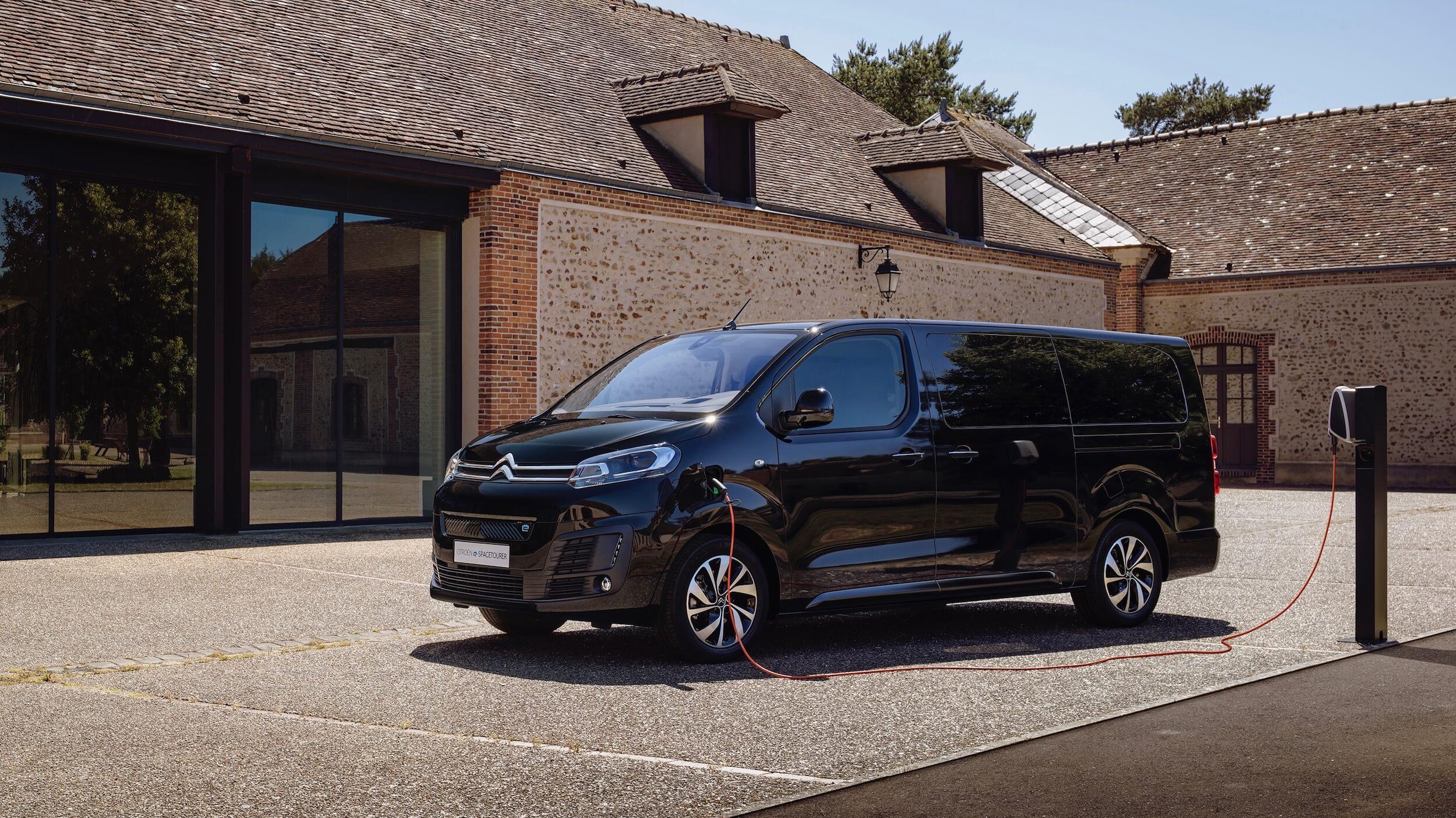 Citroën e SpaceTourer elétrico posto de carregamento