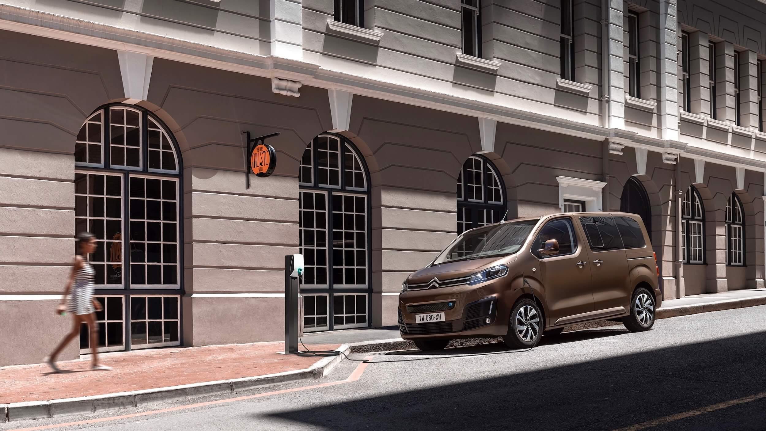 Citroën e SpaceTourer ponto de carregamento