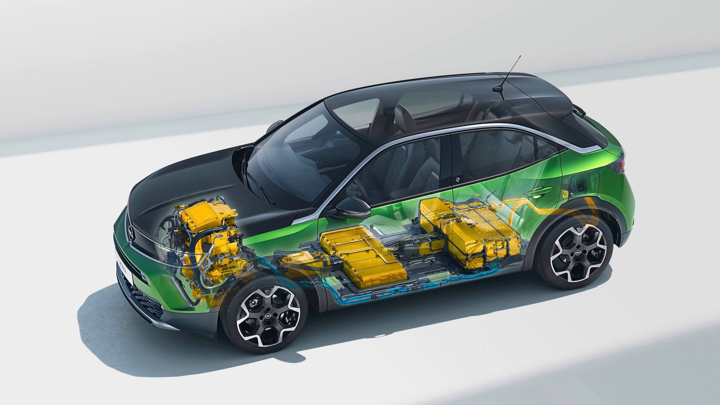 Elektrische Opel Mokka e bateria