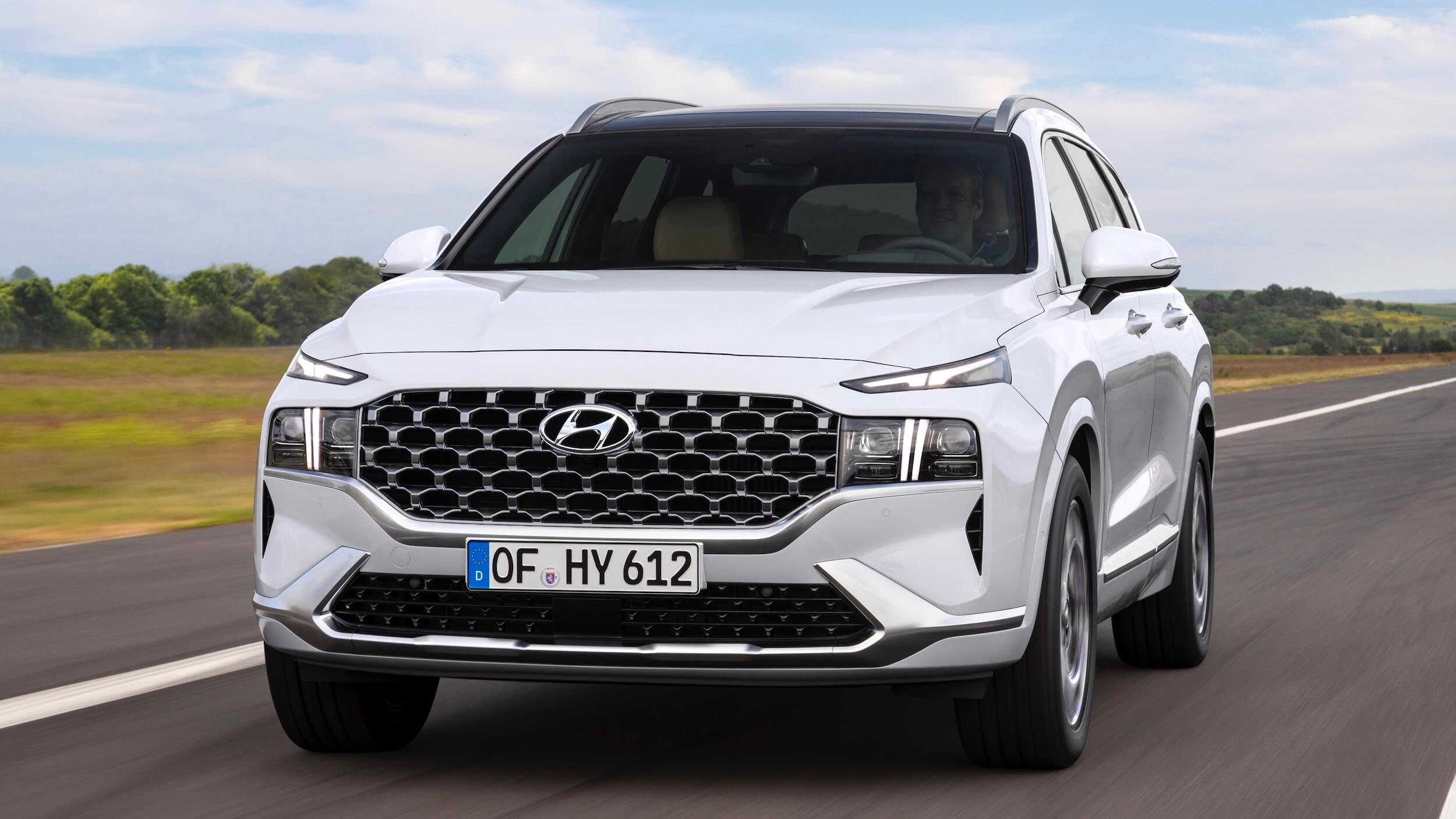 Hyundai Santa Fe híbrido