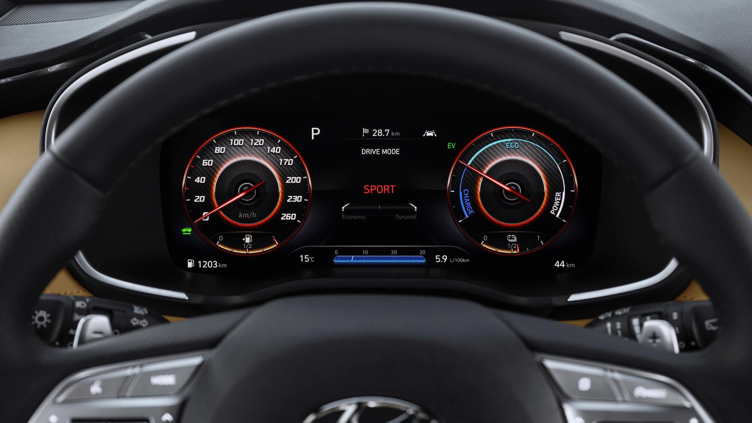 Hyundai Santa Fe volante