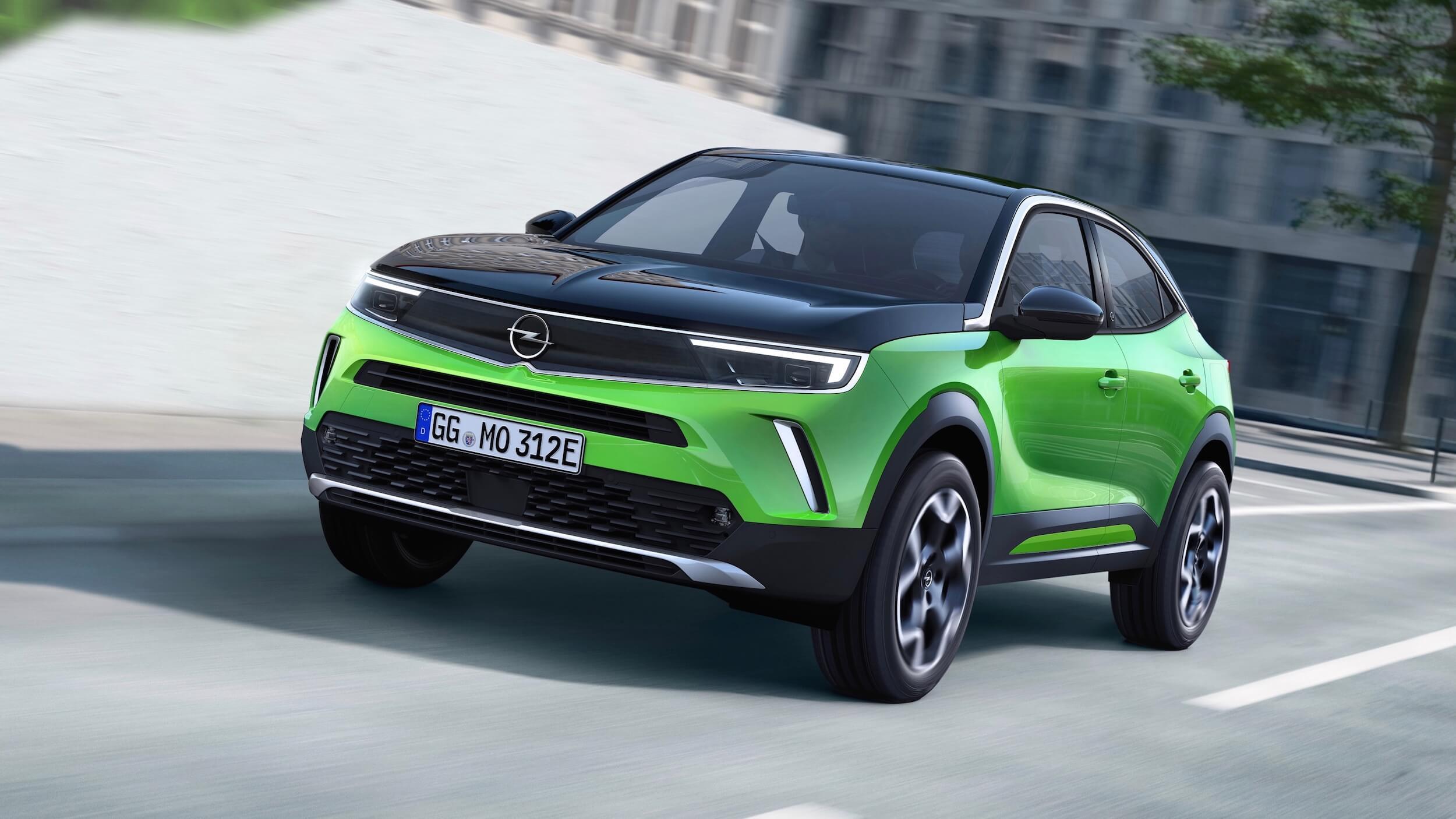 Opel Mokka e carro elétrico
