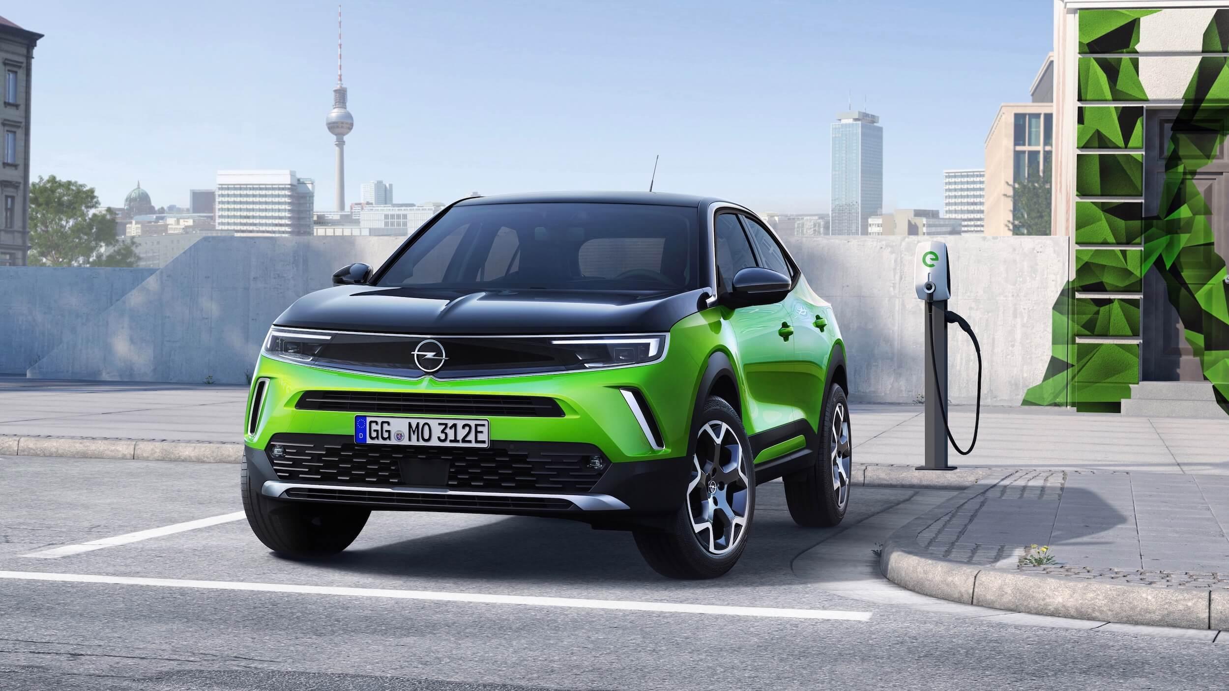 Opel Mokka e carro
