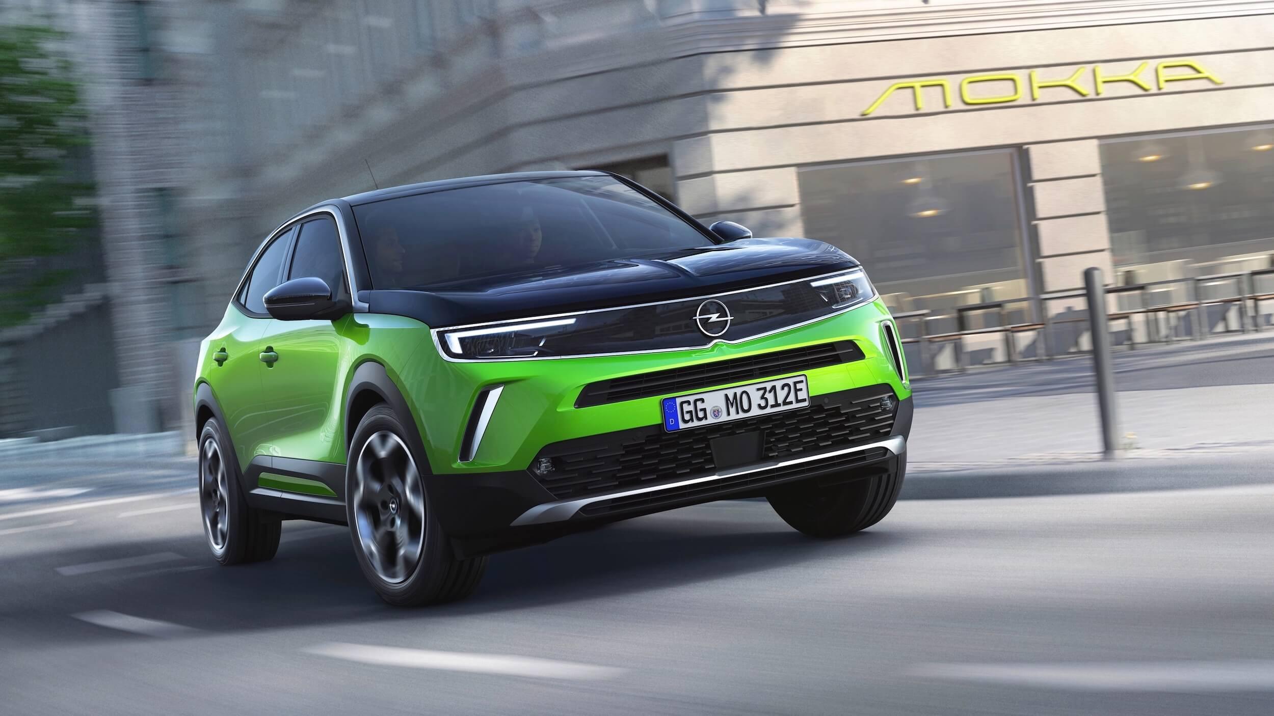 Opel Mokka e elétrico carregar