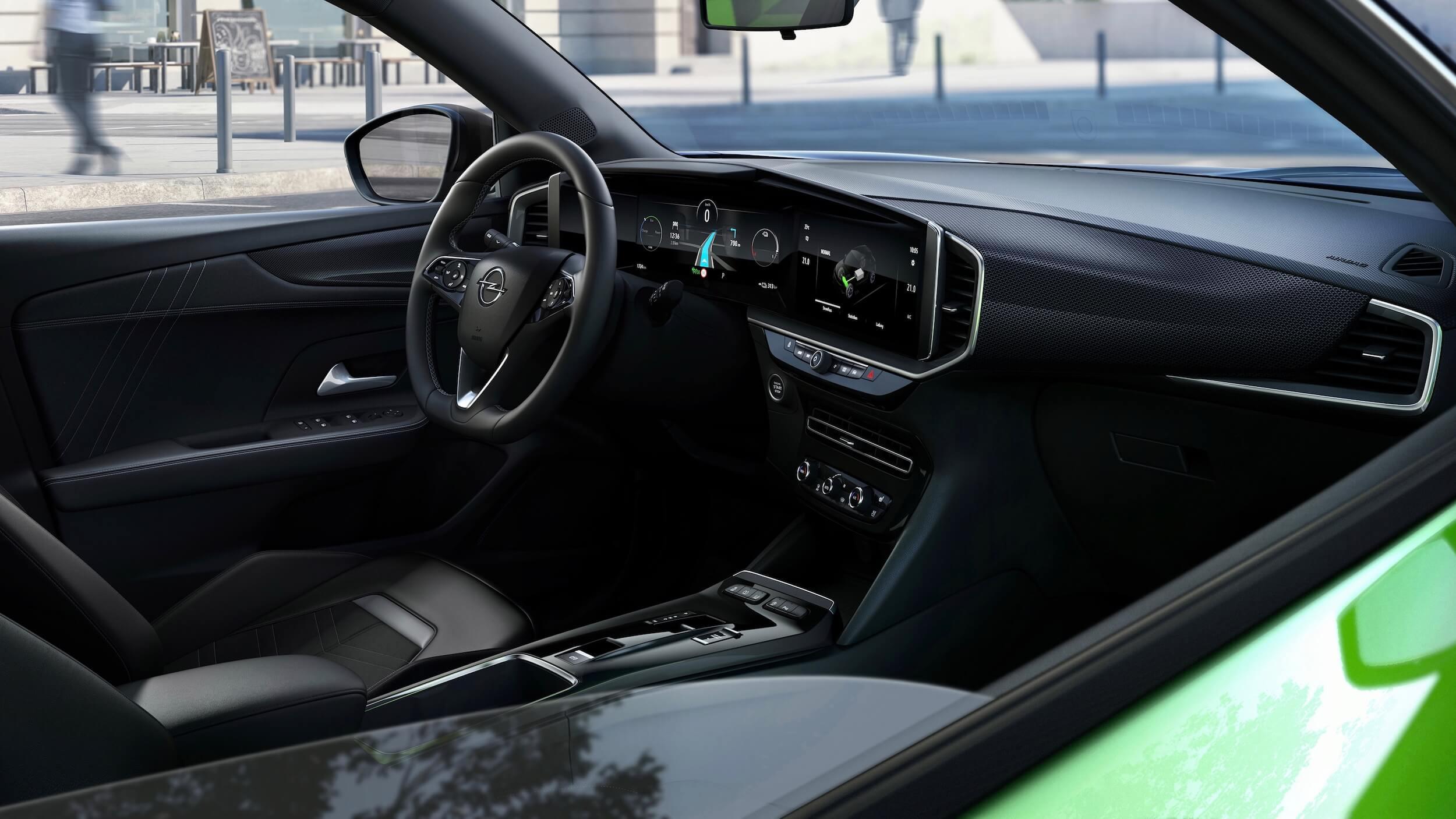 Opel Mokka e interior