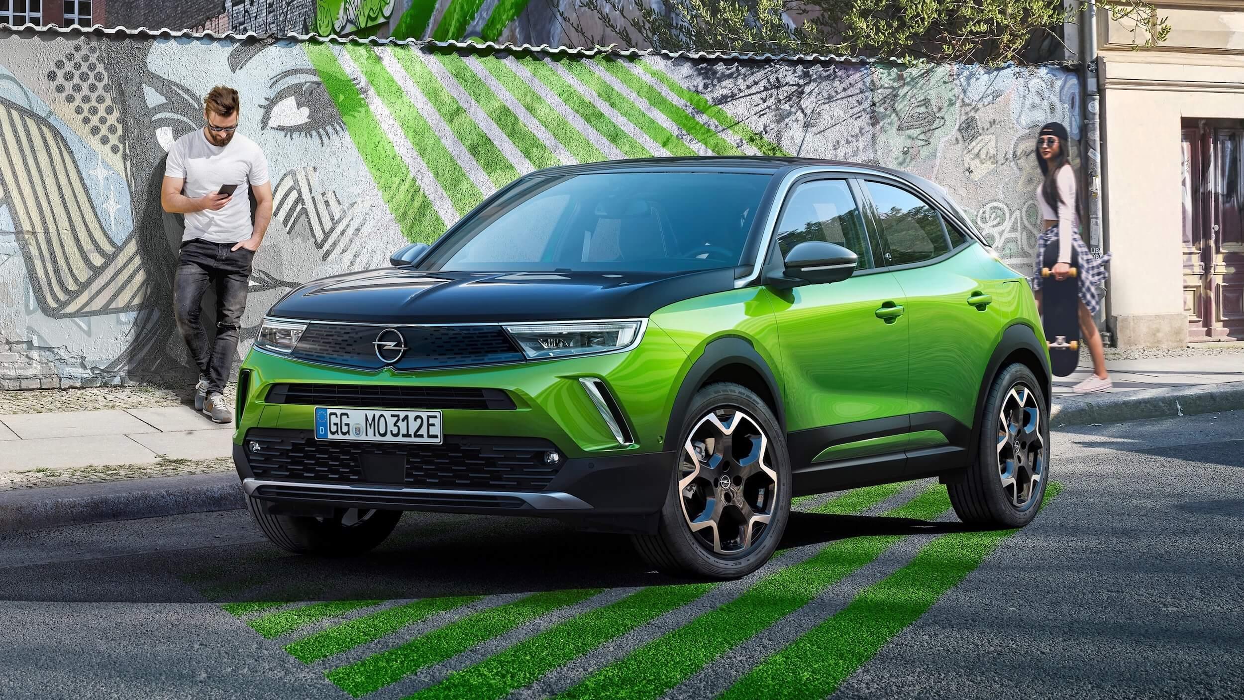 Opel Mokka veículo elétrico