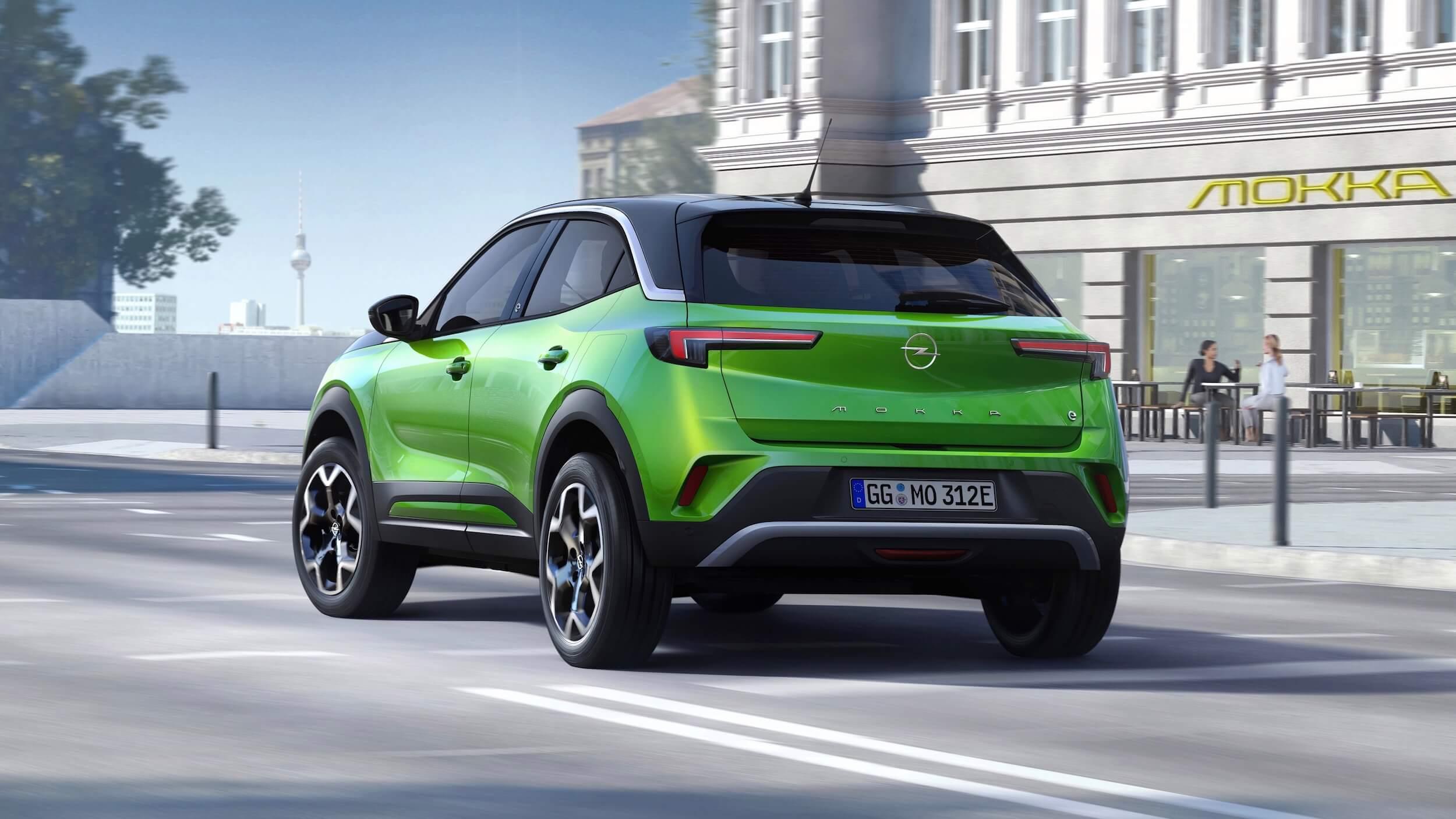 Opel Mokka verde