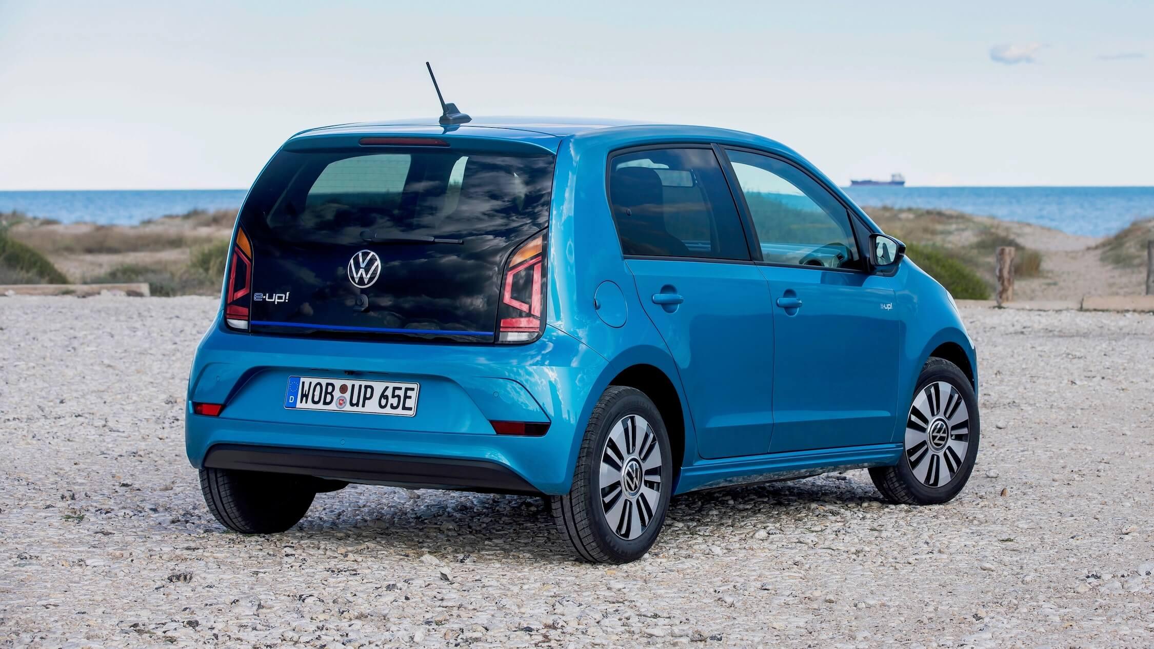 Volkswagen e Up azul
