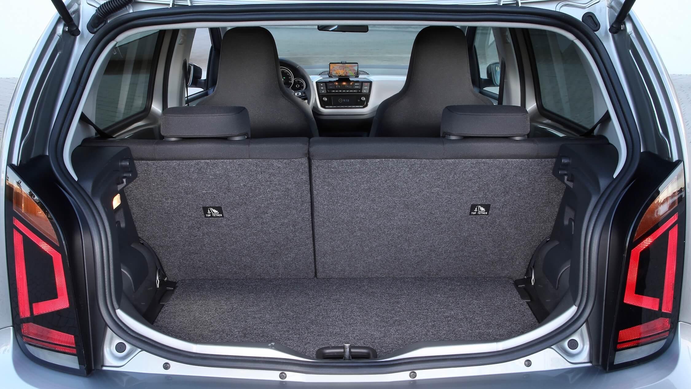 Volkswagen e Up bagageira