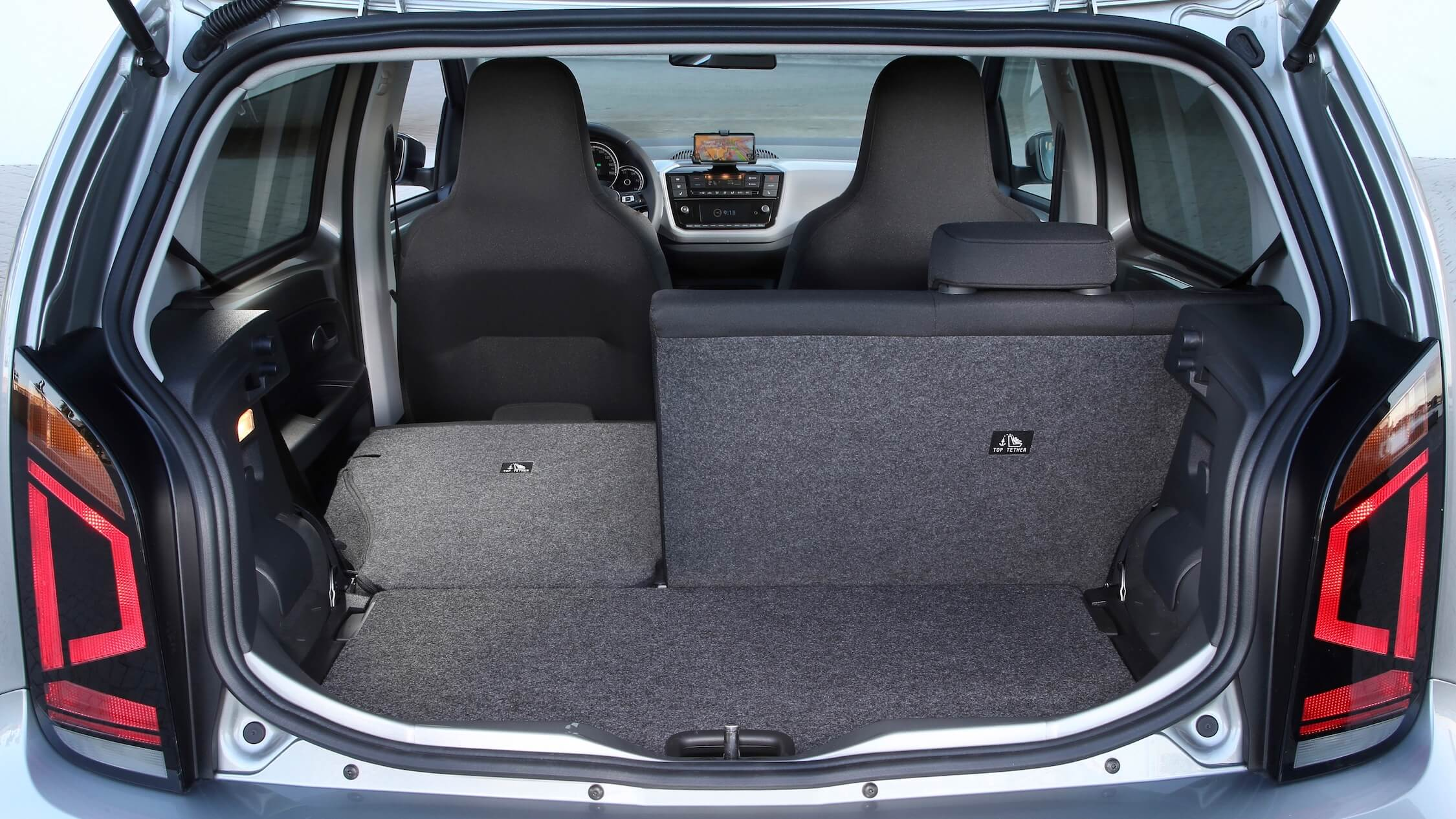 Volkswagen e Up porta bagagens