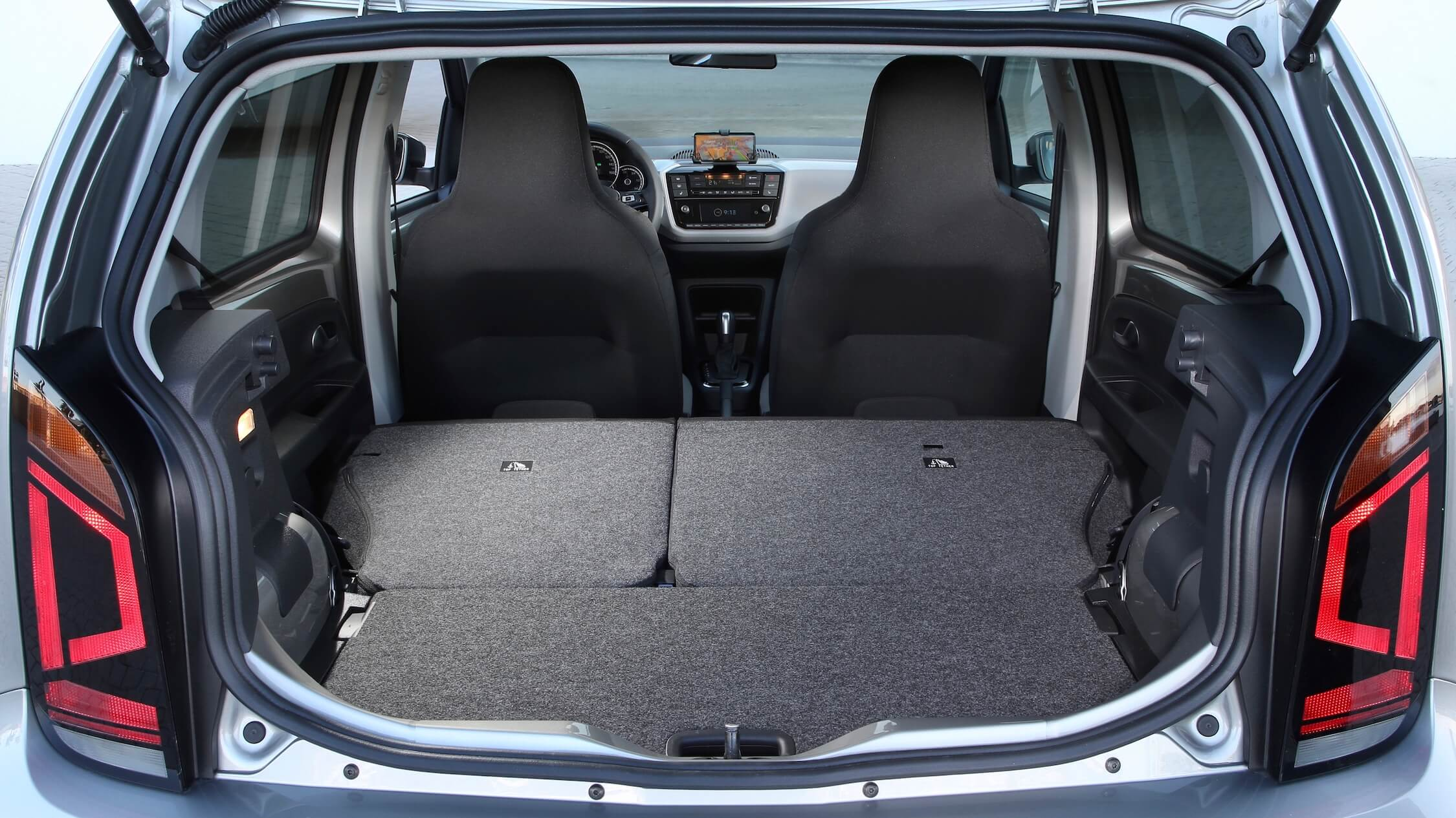 Volkswagen e Up porta malas