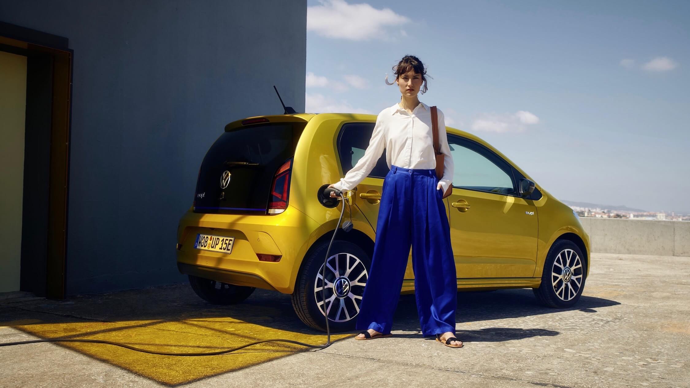 Volkswagen e up carro elétrico