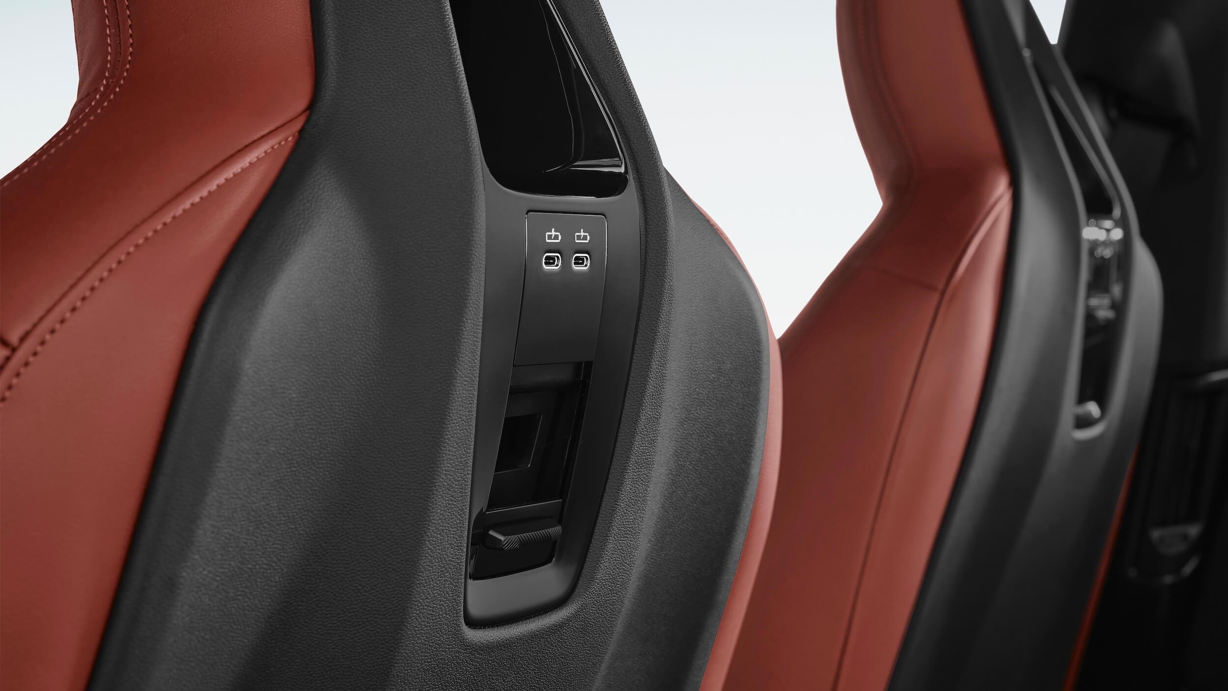 BMW iX USB