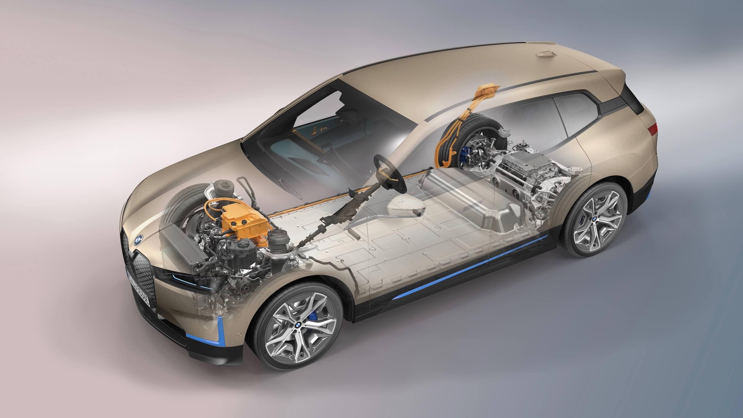 BMW iX bateria
