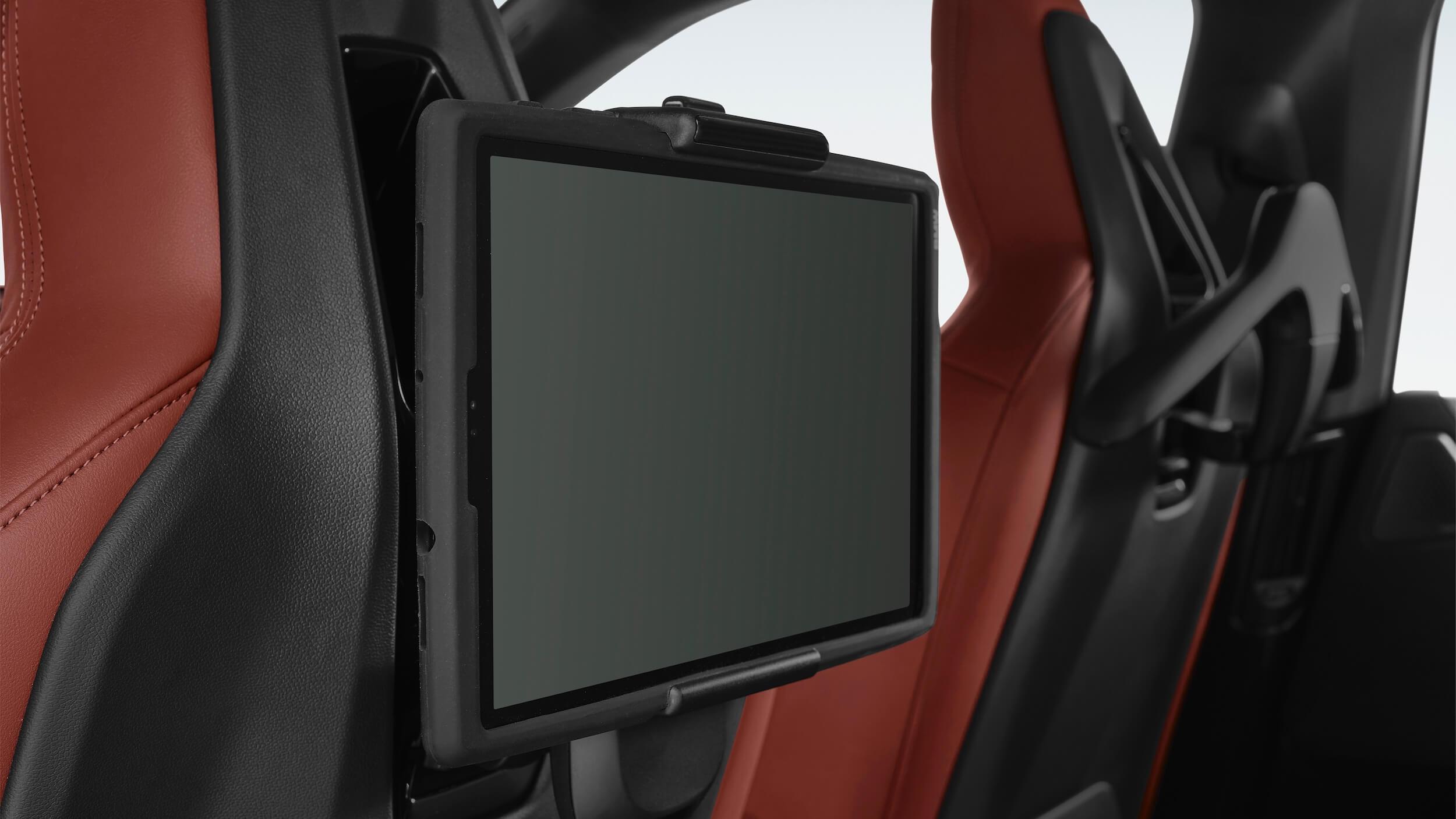 BMW iX ecrã