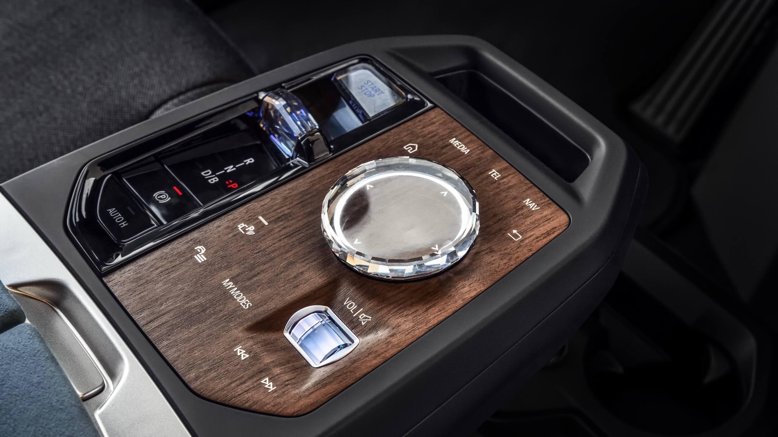 BMW iX iDrive