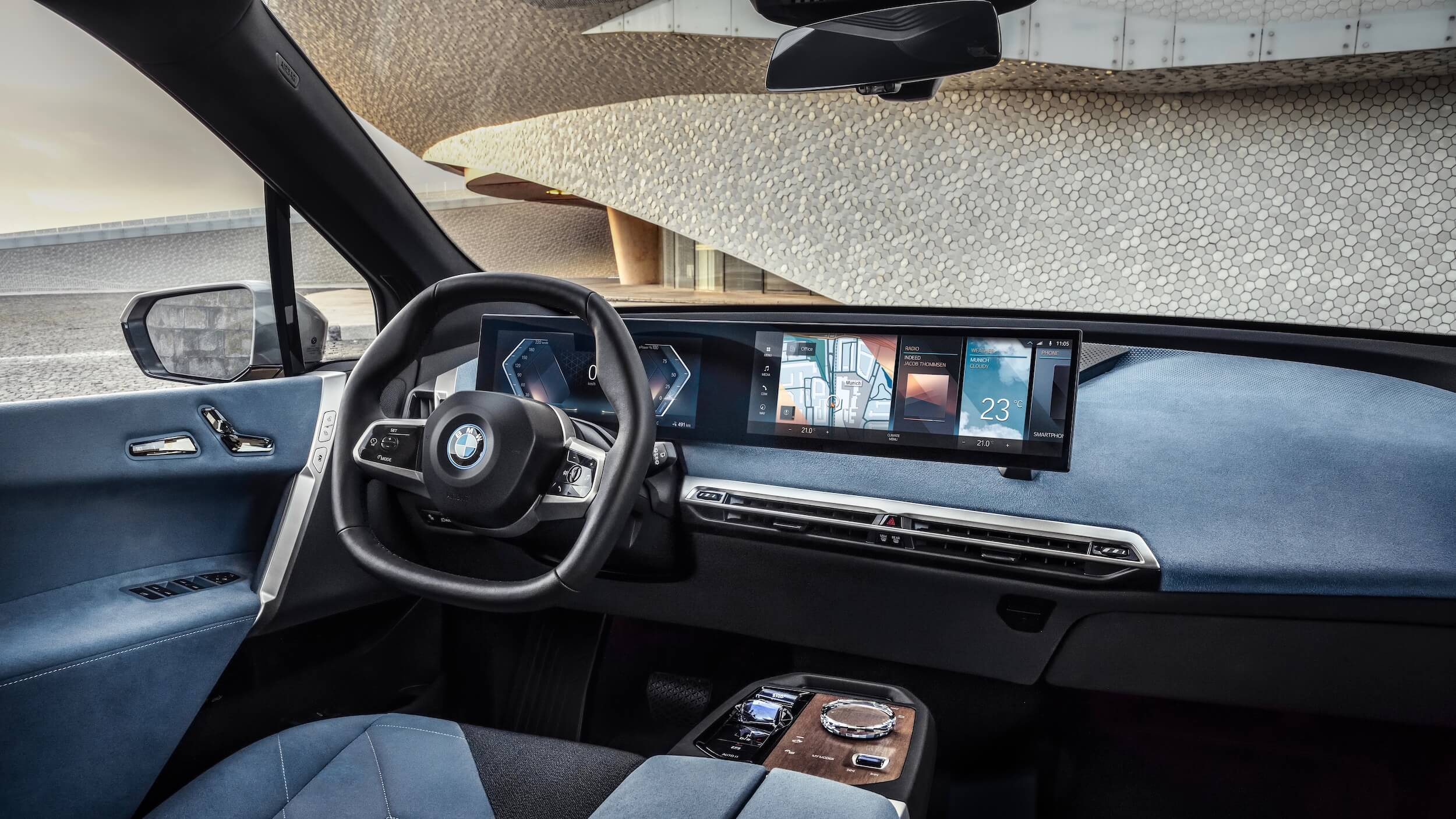 BMW iX interior 1