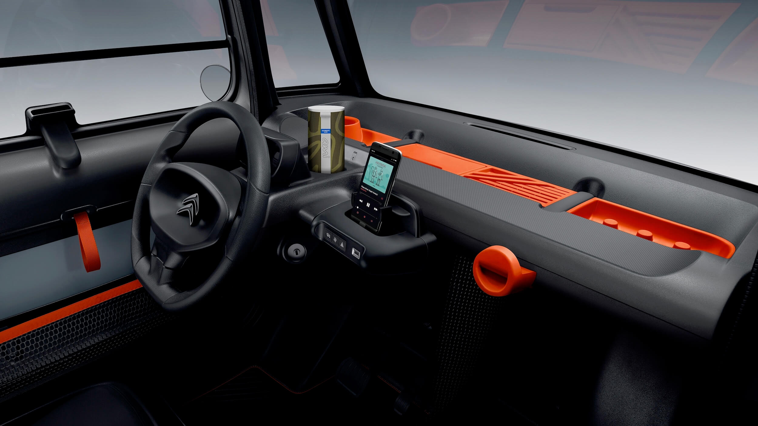 Citroën AMI interior