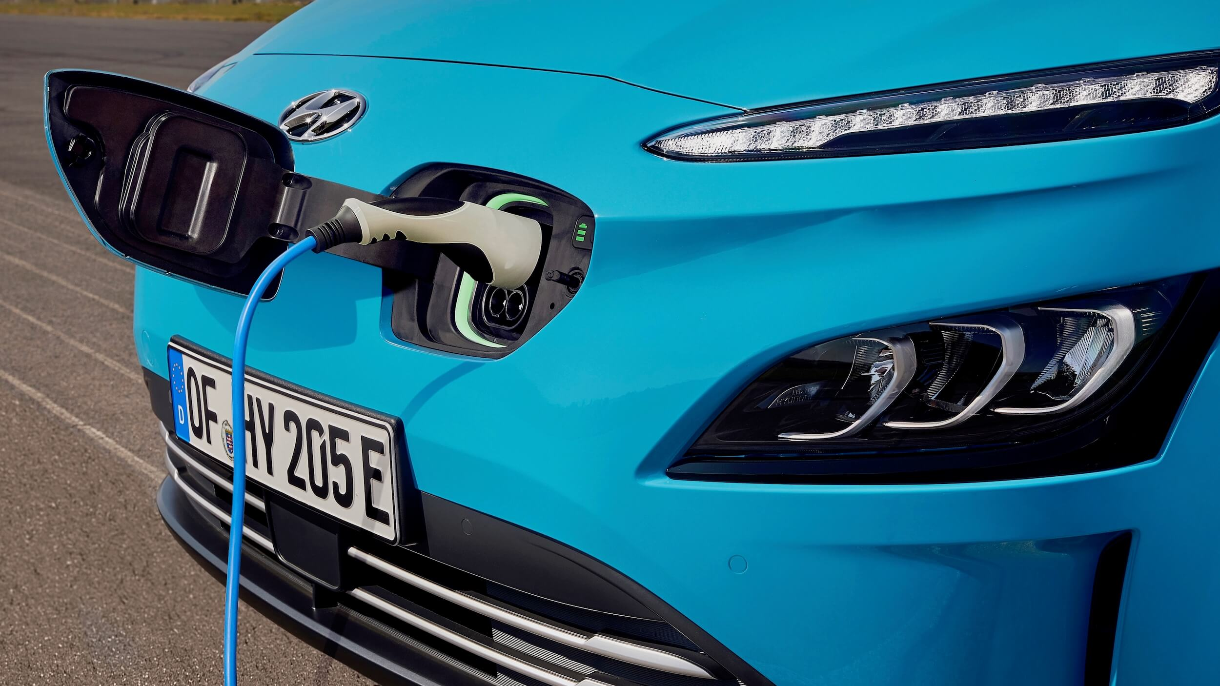 Hyundai Kona Electric carregamento