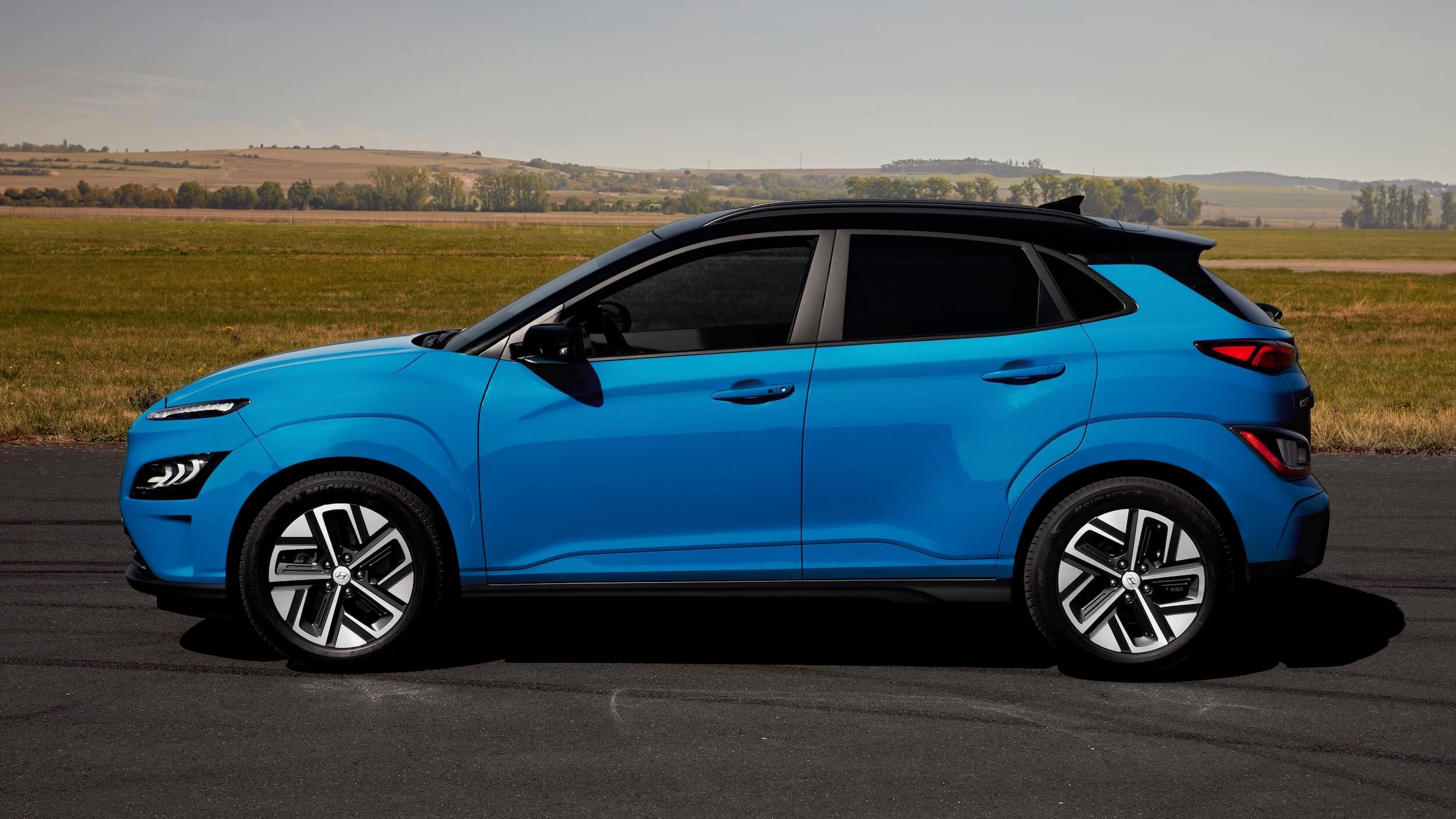 Hyundai Kona Electric perfil