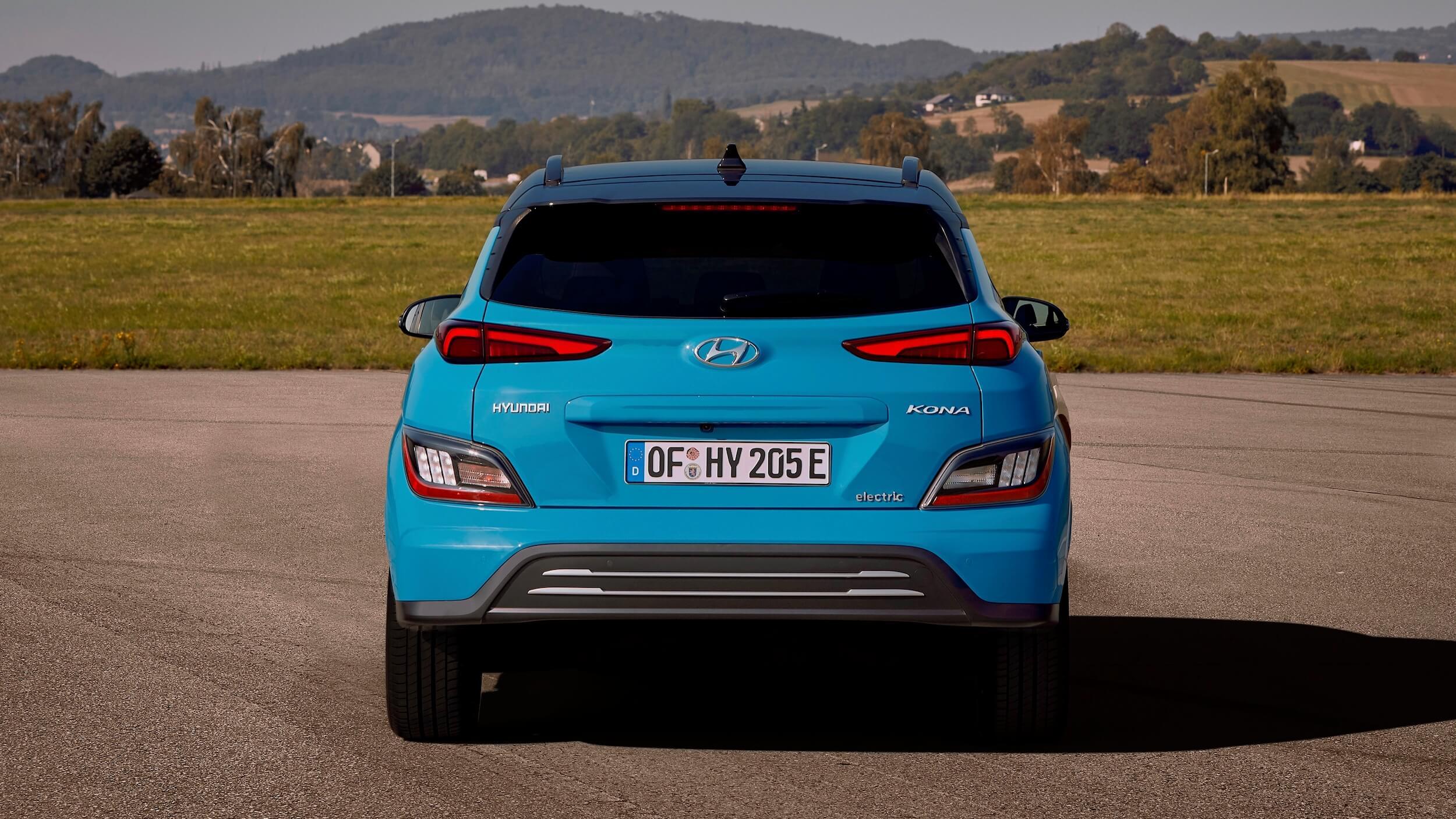 Hyundai Kona Electric traseira