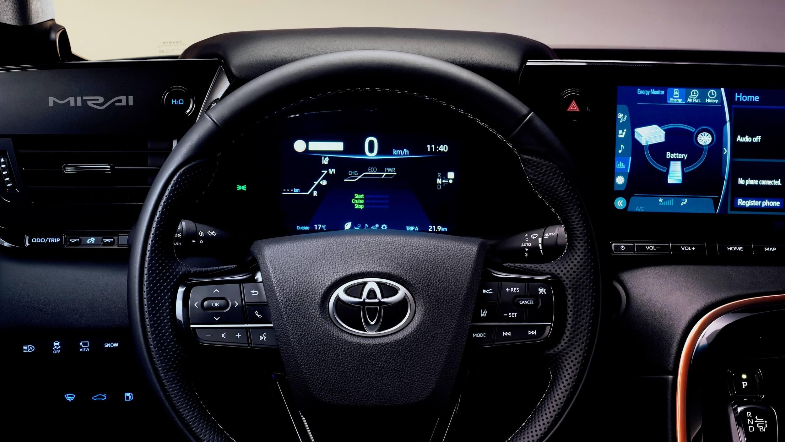 Toyota Mirai volante