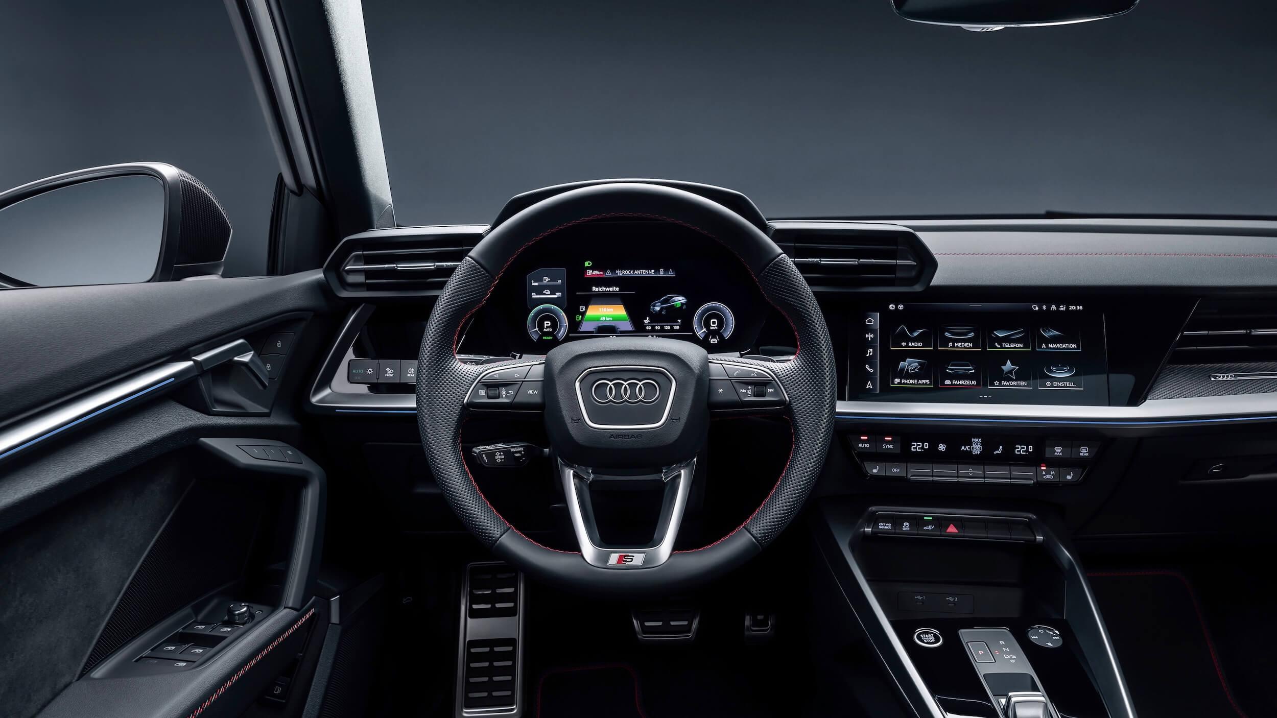 Audi A3 Sportback 45 TFSIe volante