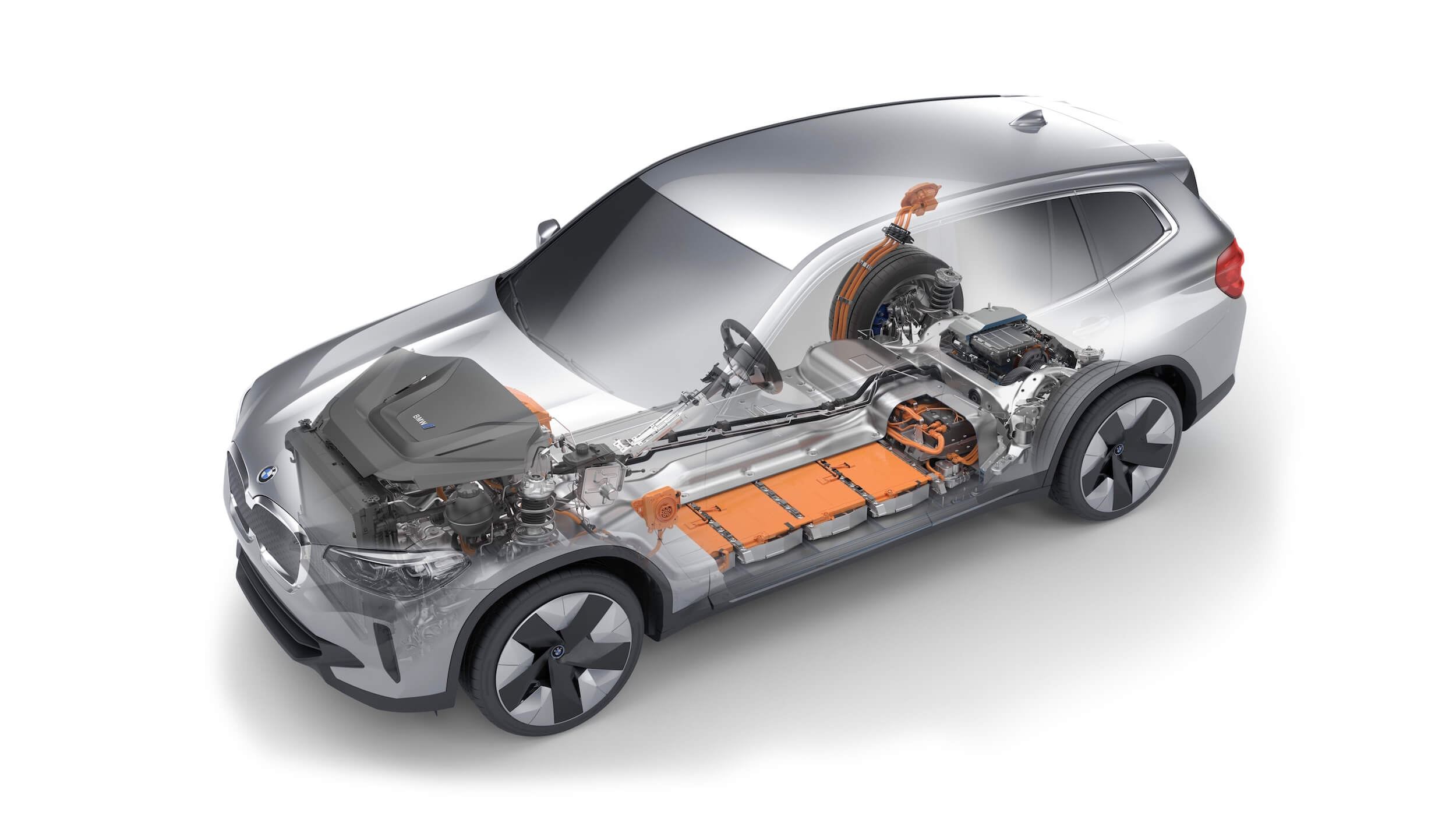 BMW iX3 bateria