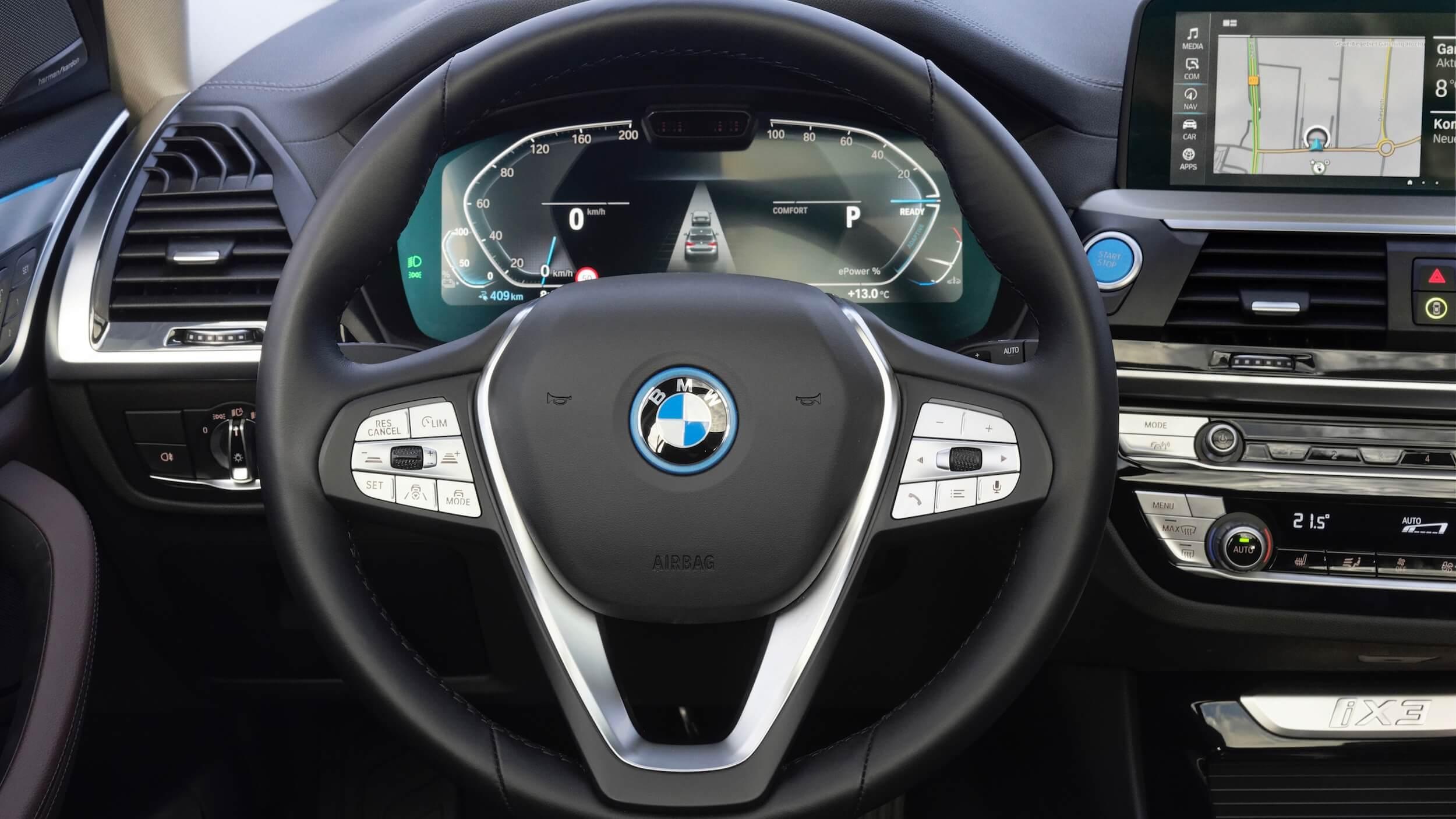 BMW iX3 volante