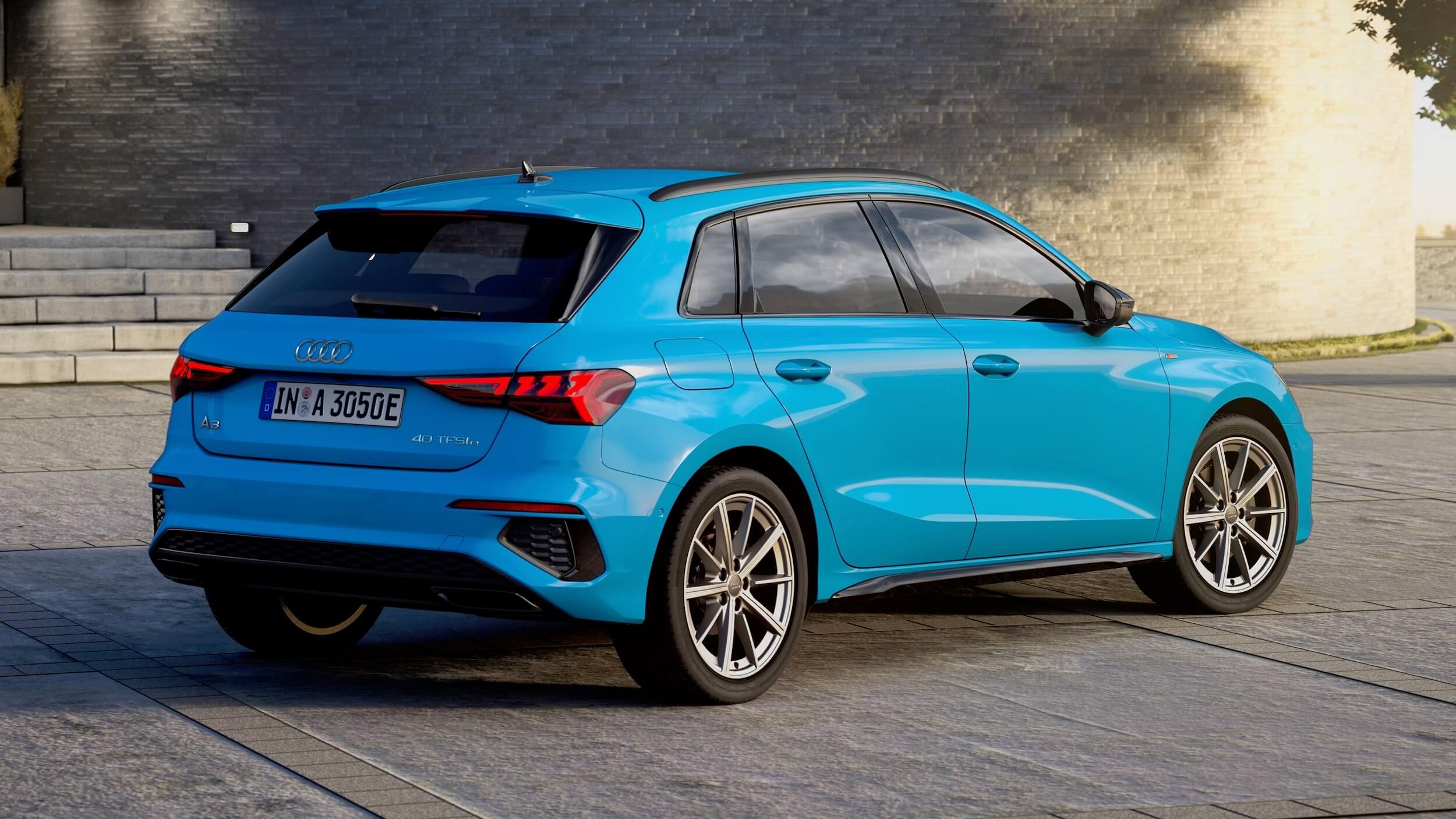 Híbrido Audi A3 Sportback 40 TFSI e