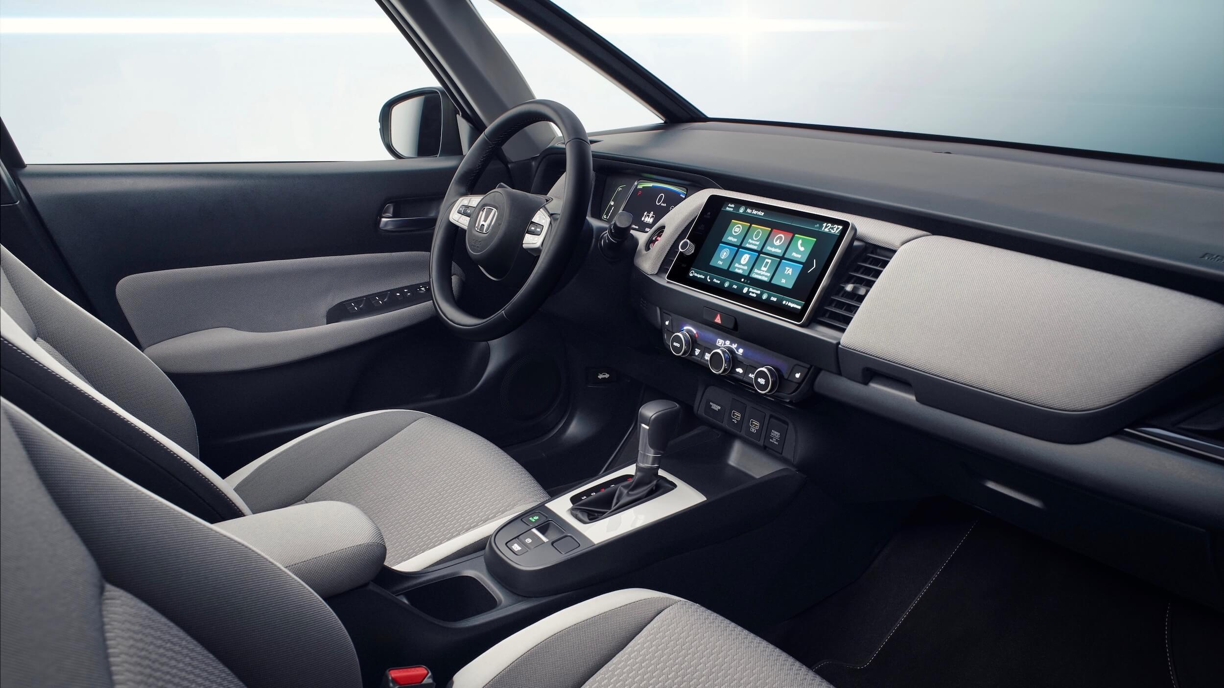Honda Jazz Crosstar interior