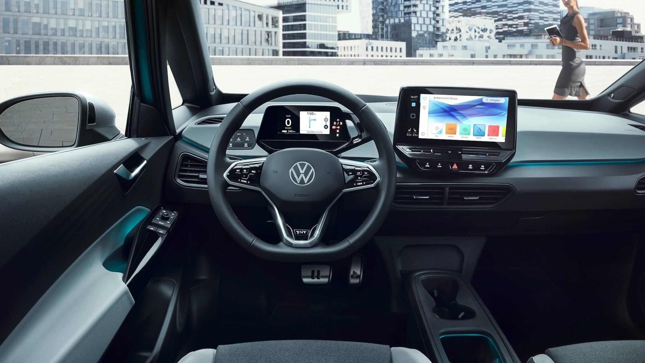 VW ID 3 interior