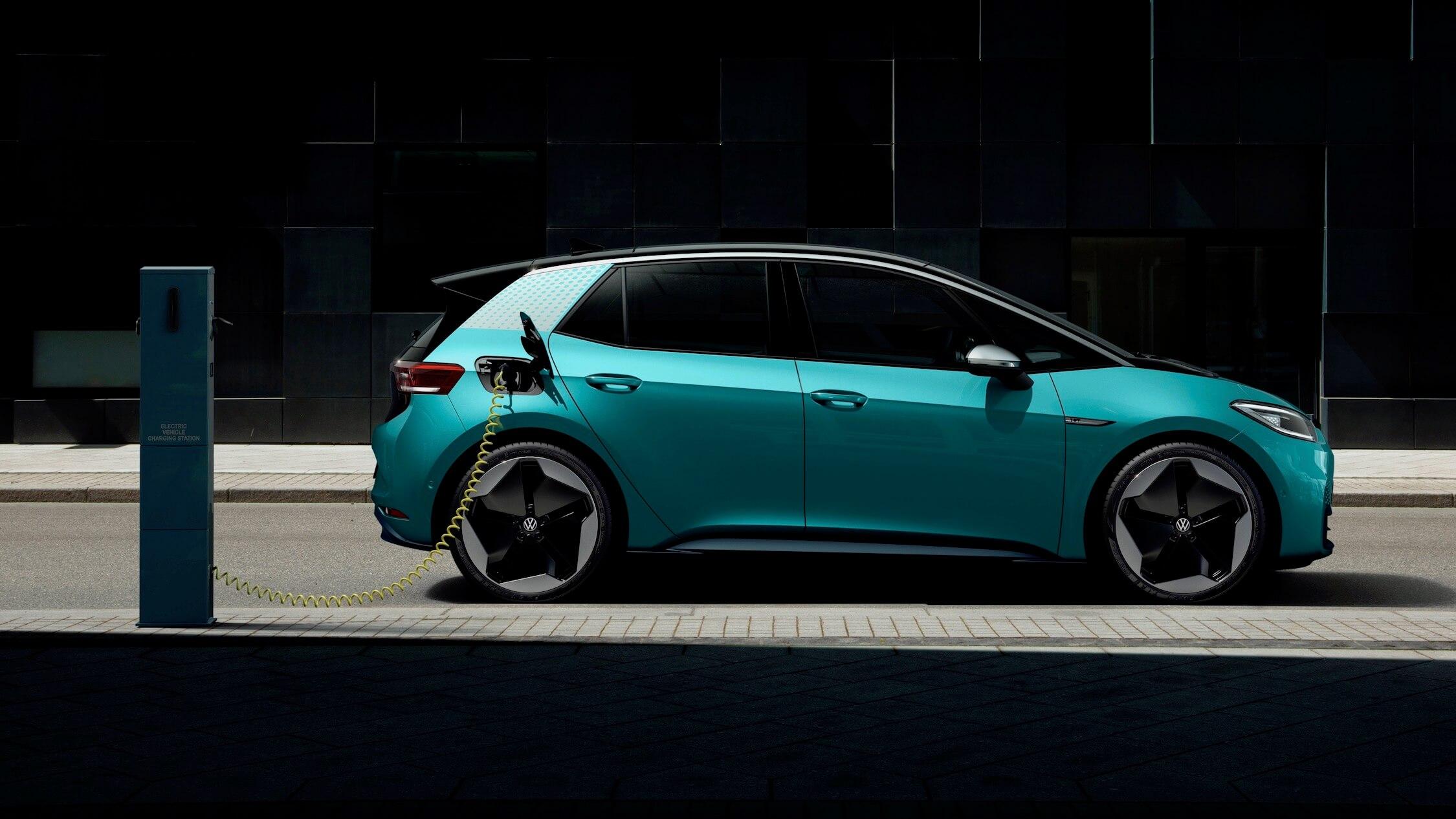 Volkswagen ID 3 carro elétrico
