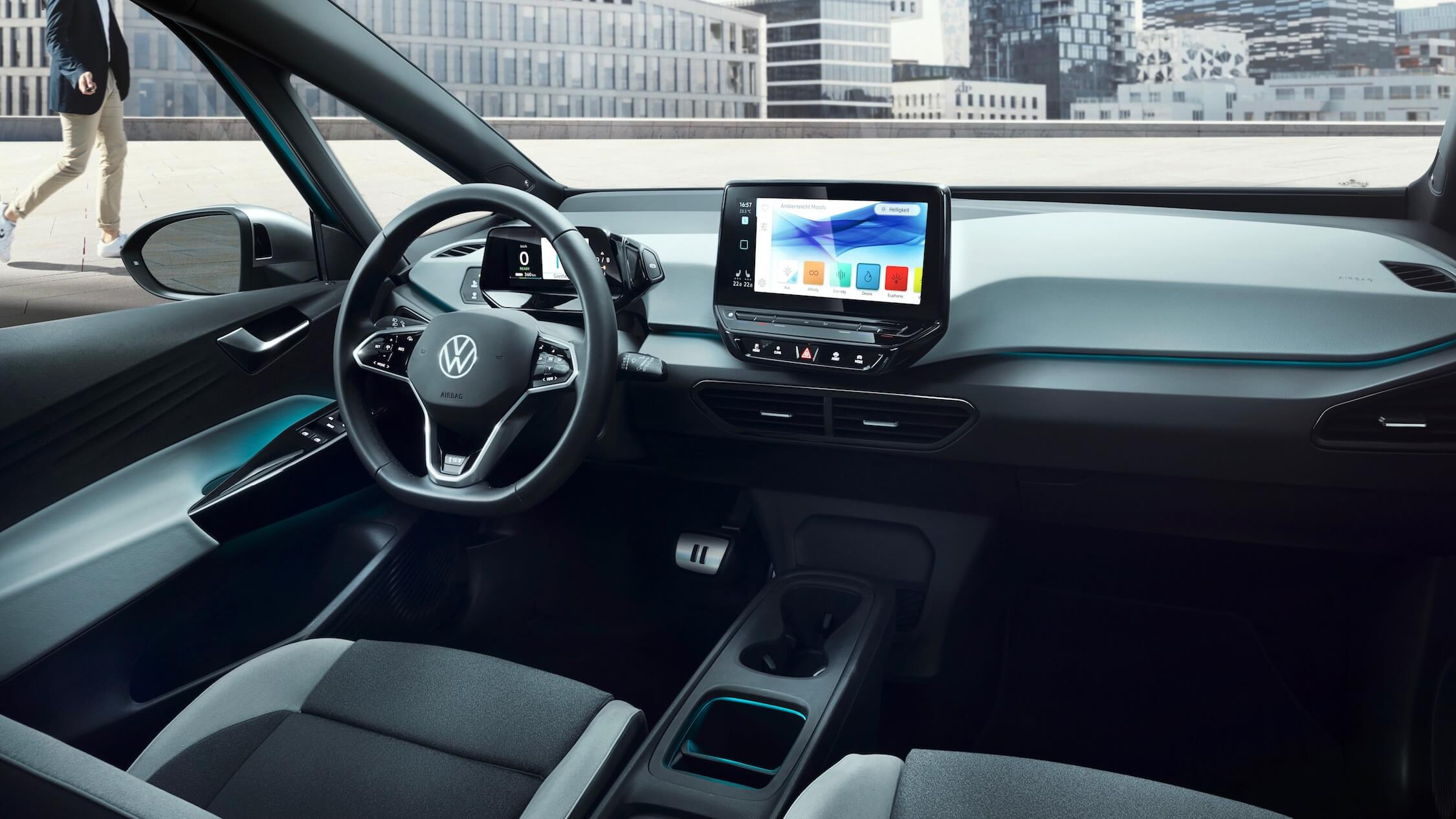 Volkswagen ID 3 dashboard