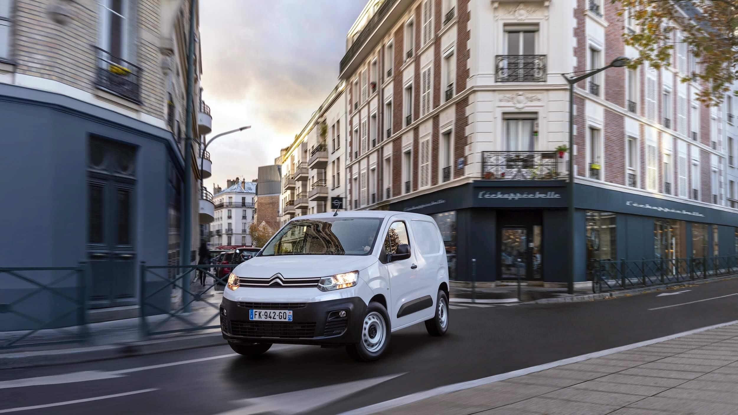 Citroën ë Berlingo branco