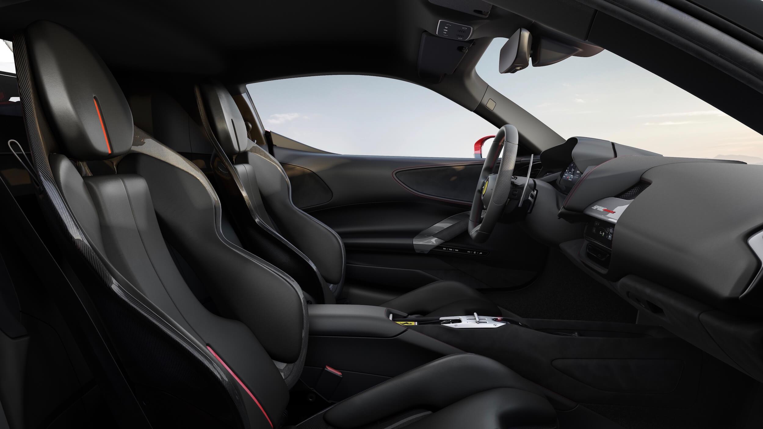 Ferrari SF90 Stradale cadeiras