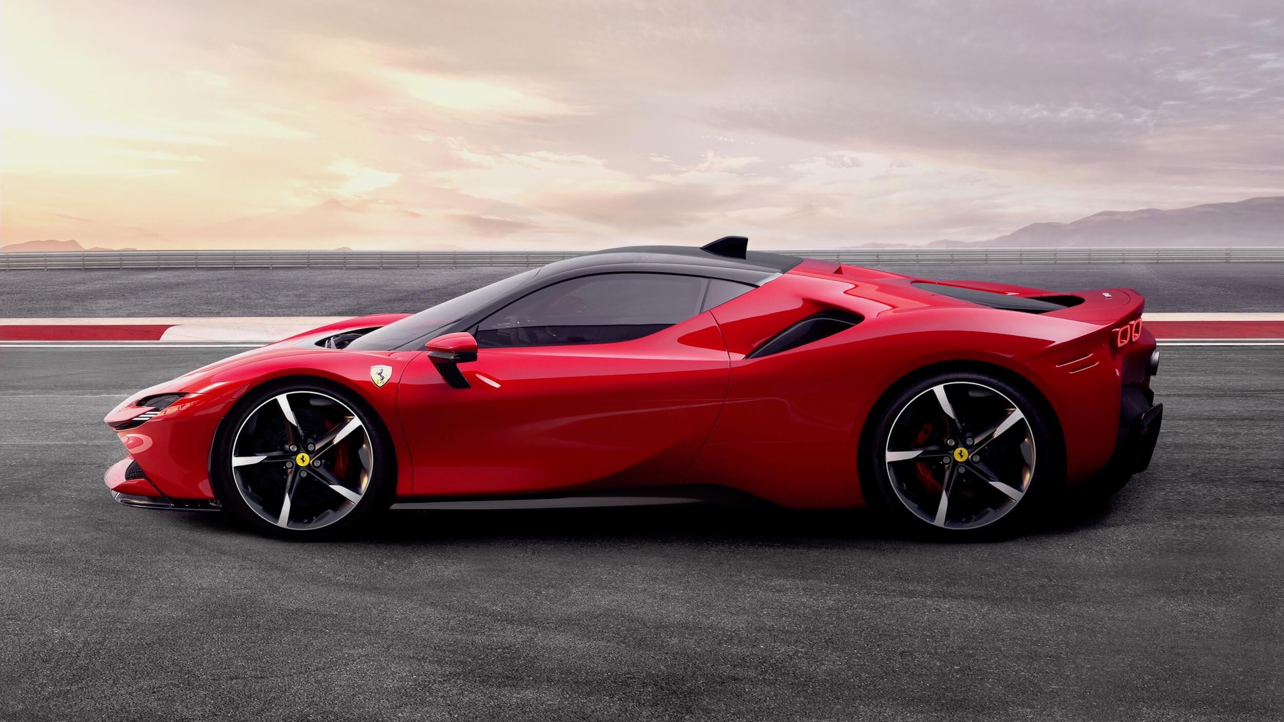 Ferrari SF90 Stradale híbrido plug in