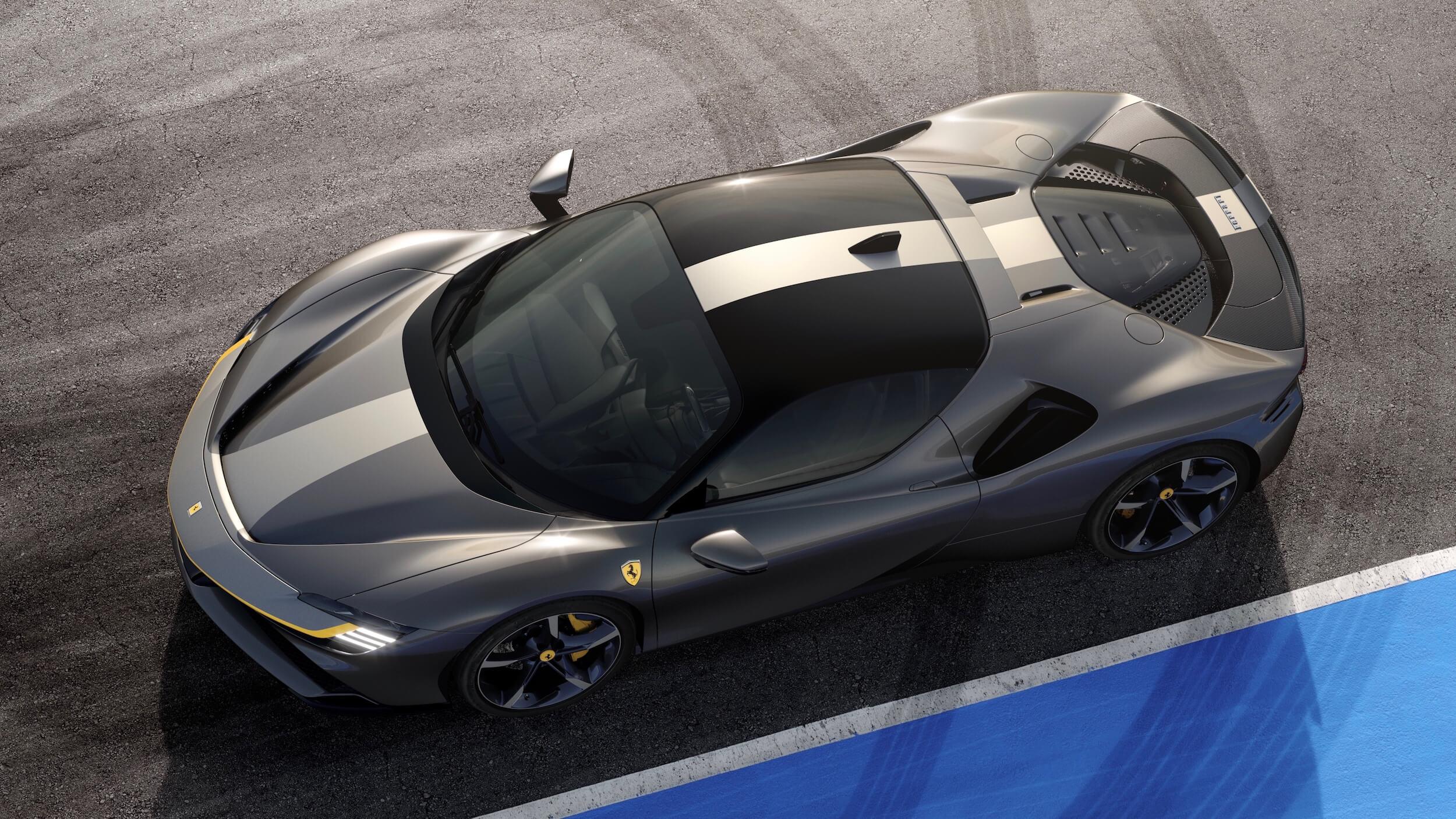 Ferrari SF90 Stradale preto