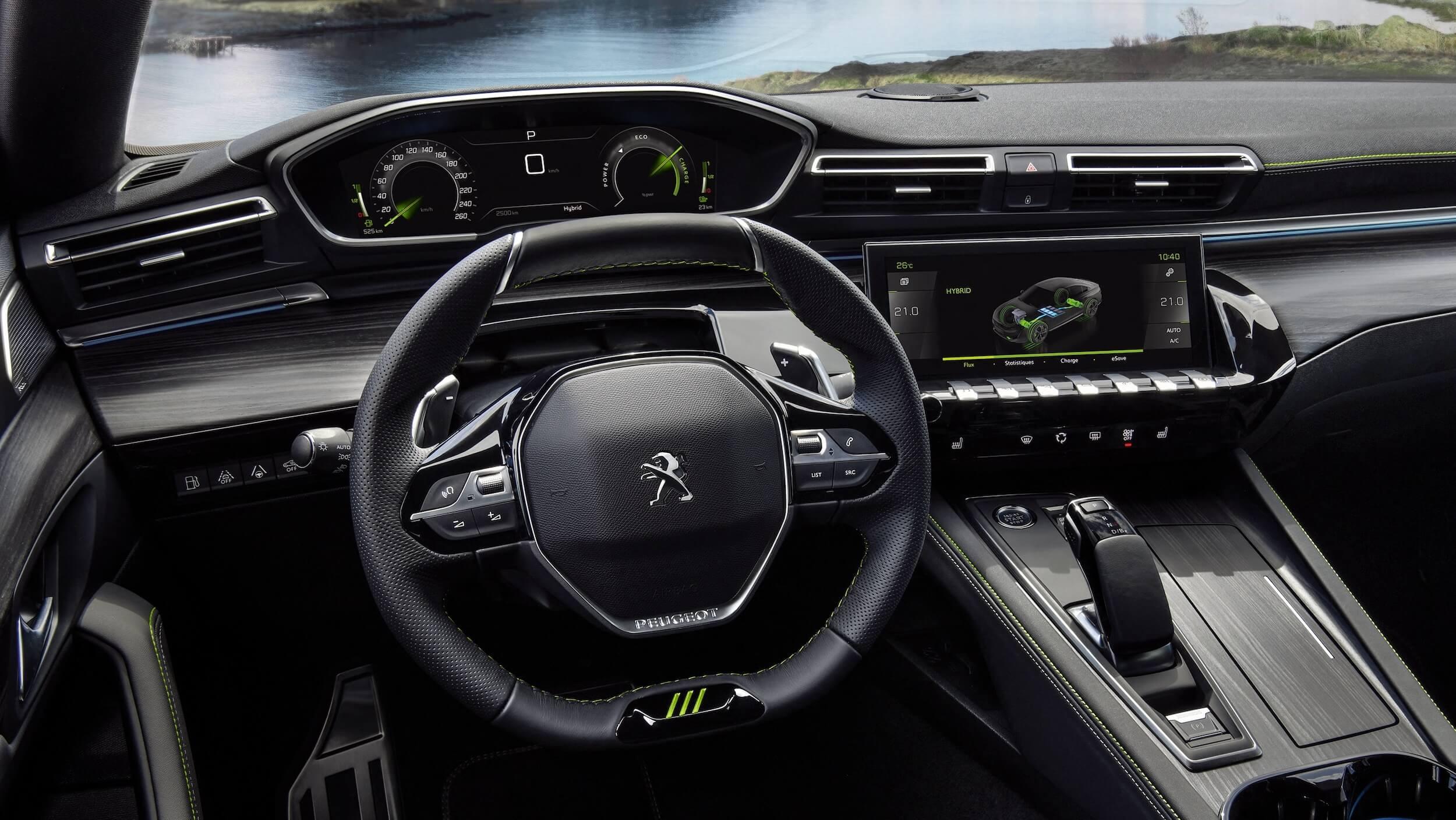 Peugeot 508 plug in hybrid sedan