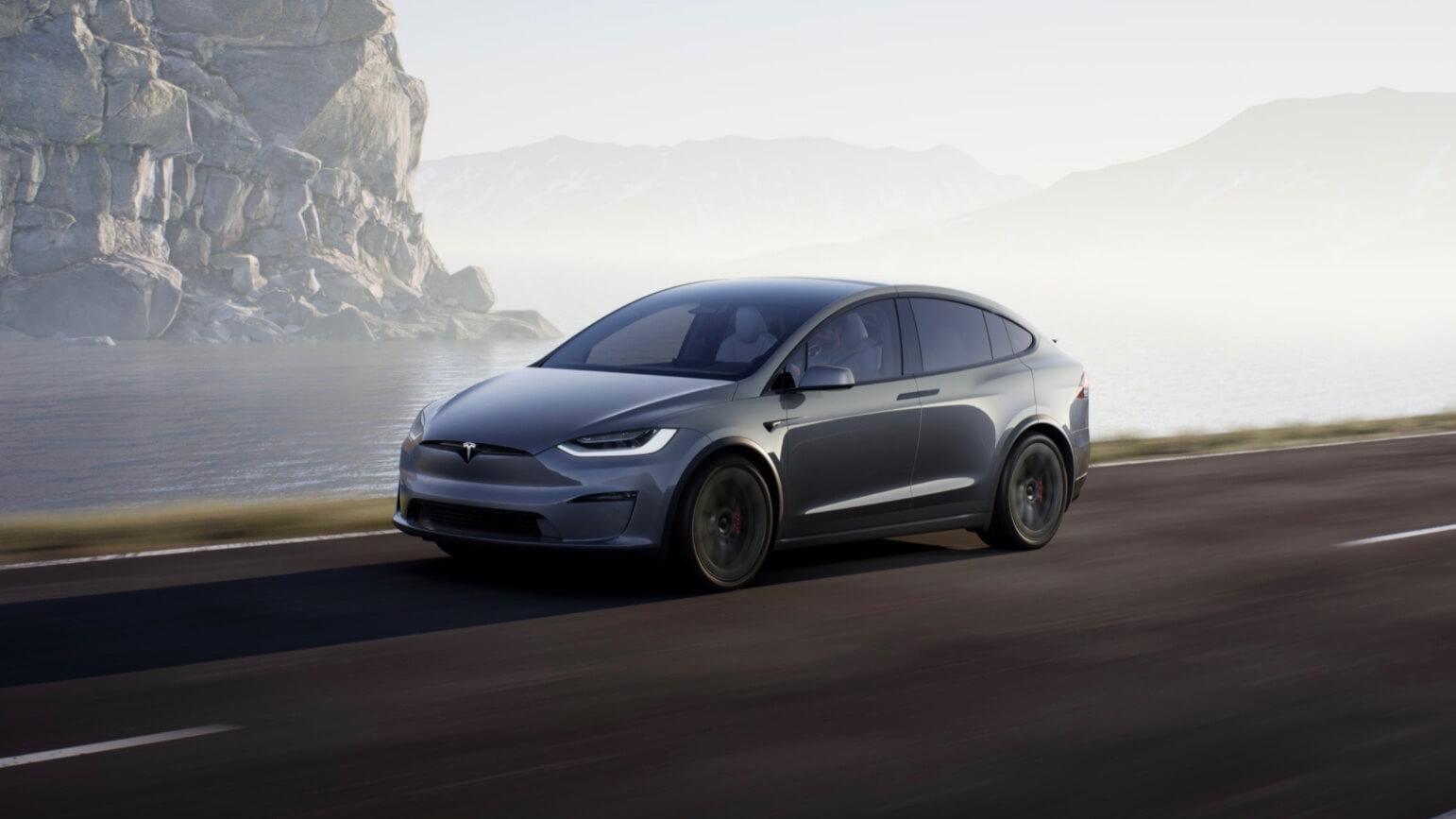 Tesla Model X SUV elétrico