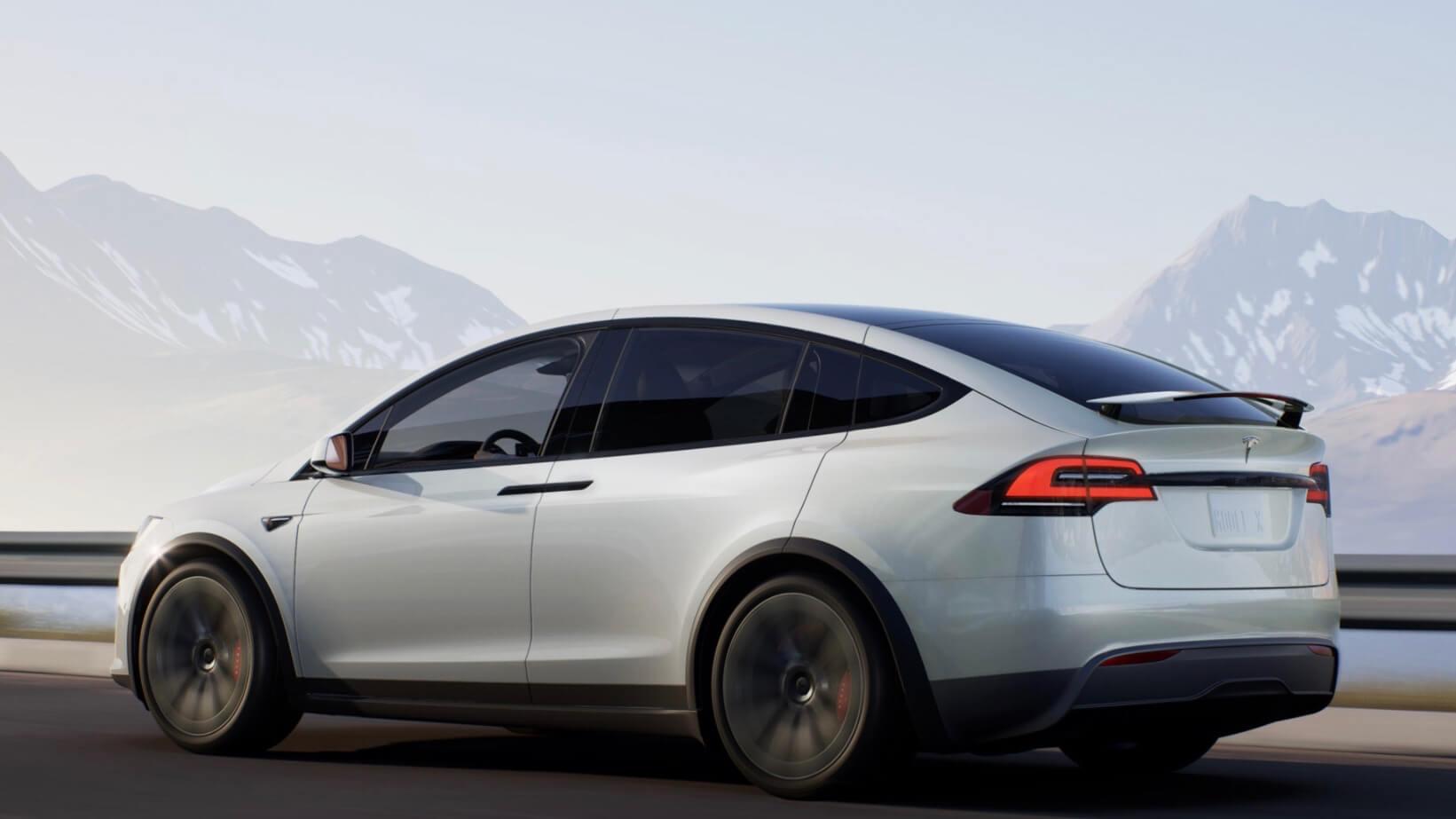 Tesla Model X branco