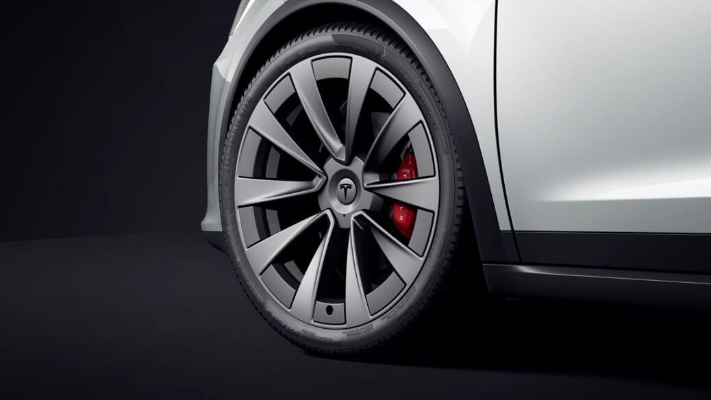 Tesla Model X roda