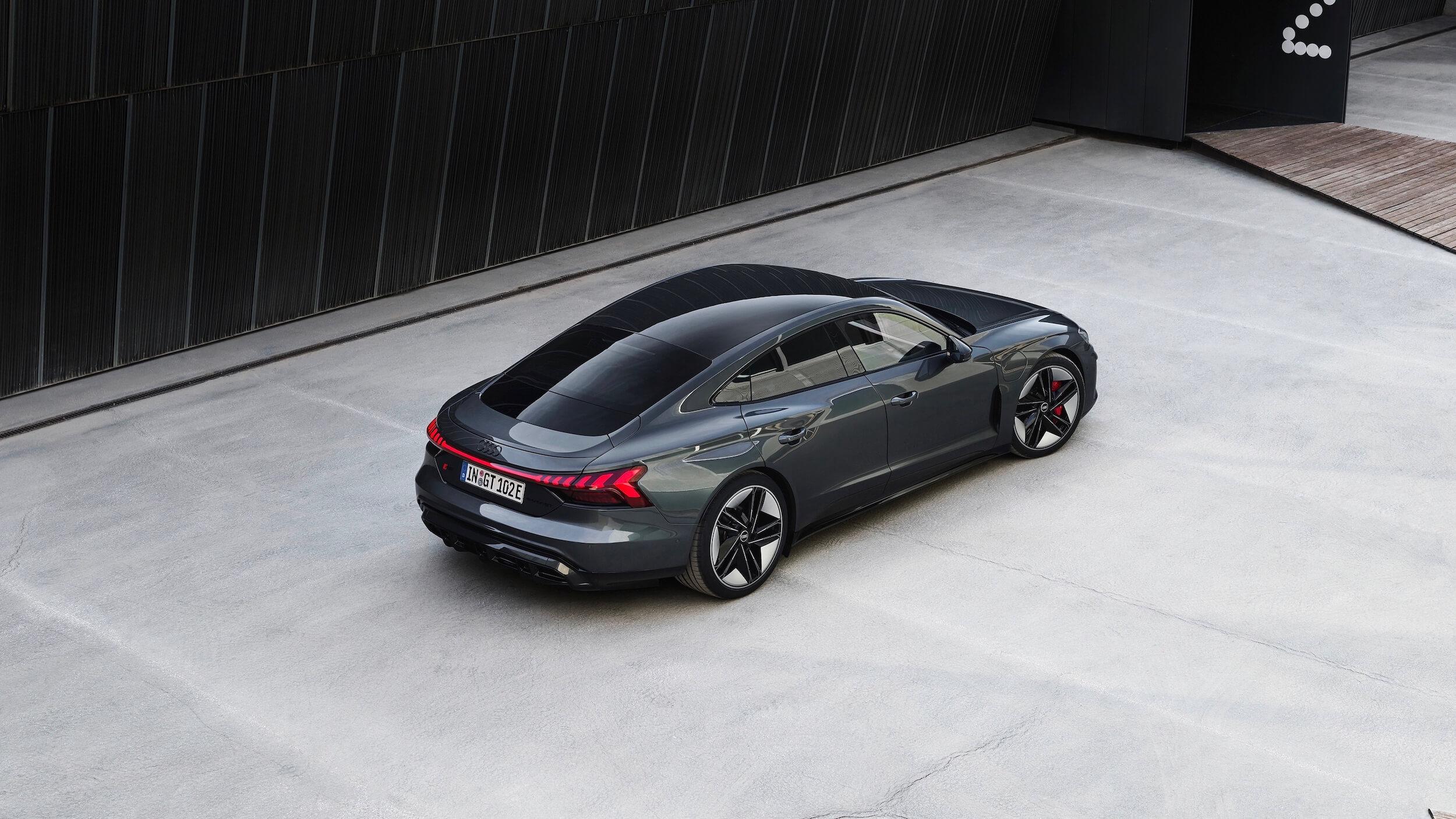 Audi e tron GT RS carro desportivo